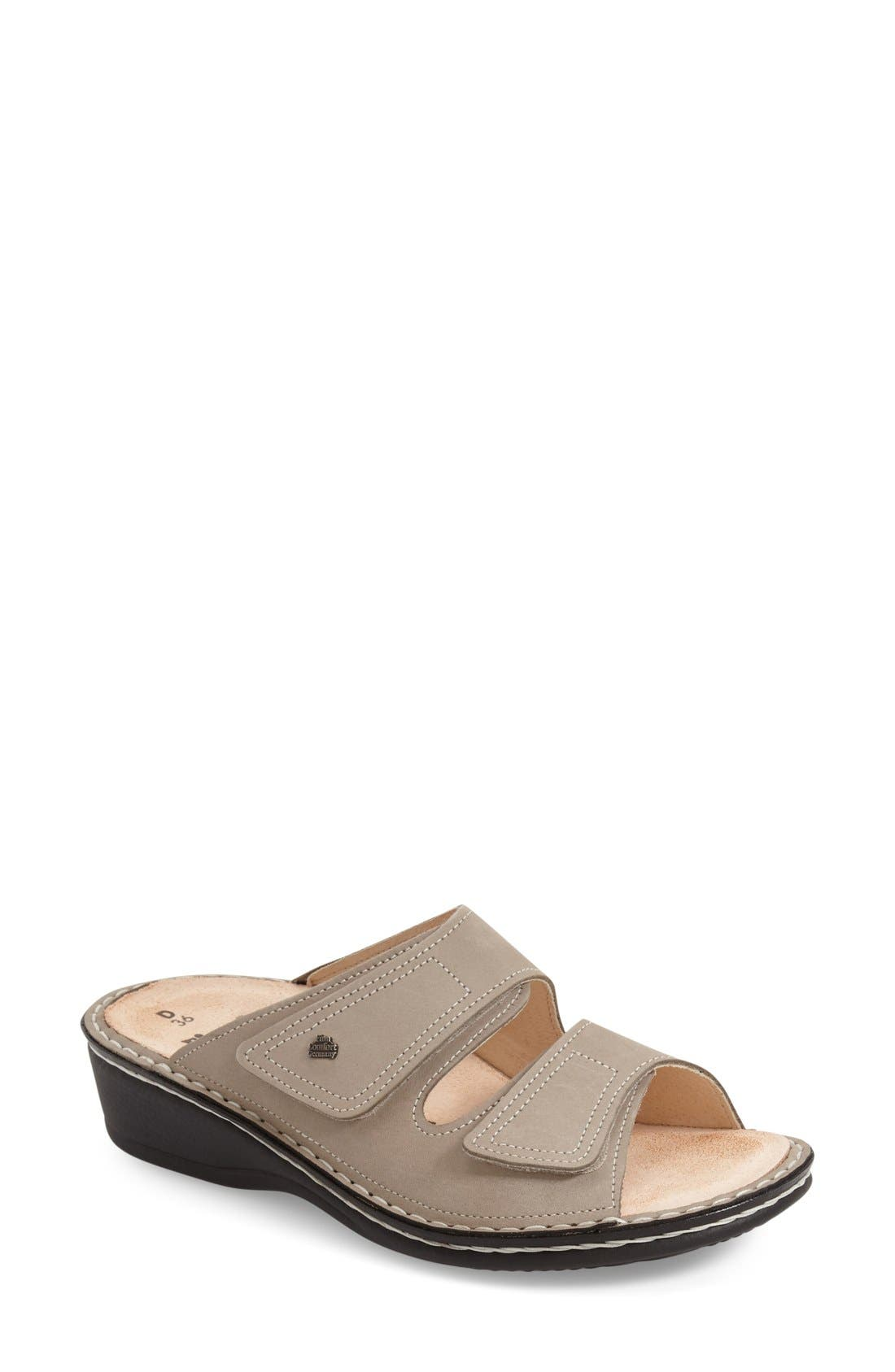 Finn 'Jamaica' Sandal,                         Main,                         color, Rock Nubuck Leather