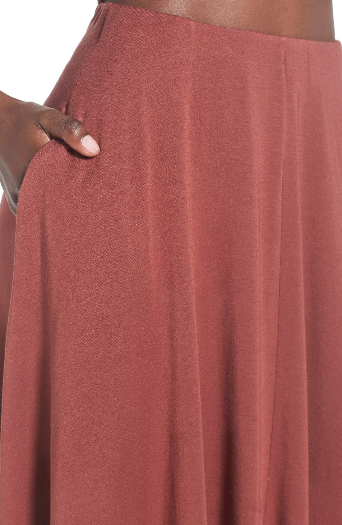 Alternate Image 4  - Leith Circle Midi Skirt