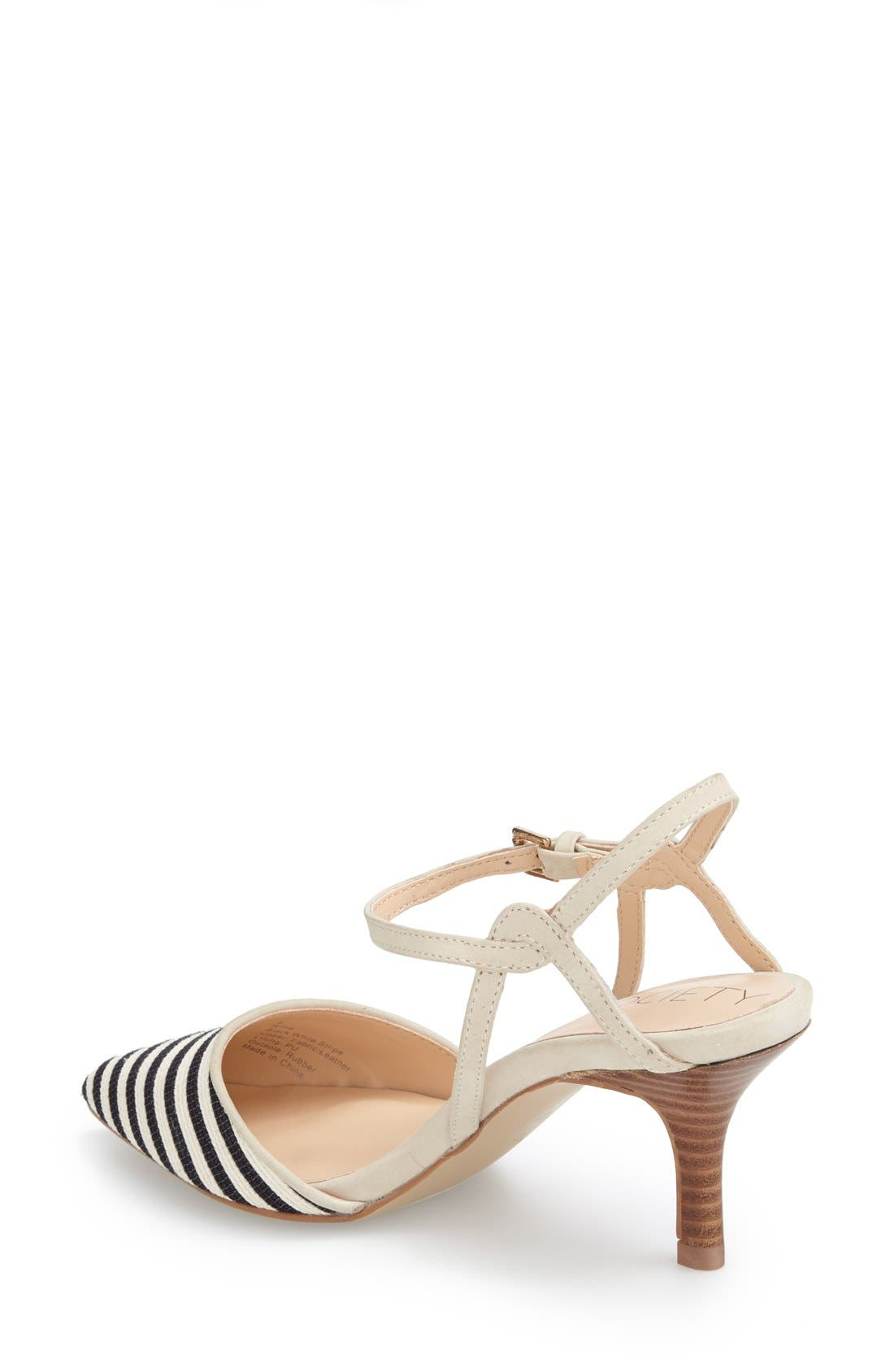 Alternate Image 2  - Sole Society 'Rima' Ankle Strap Pump (Women)