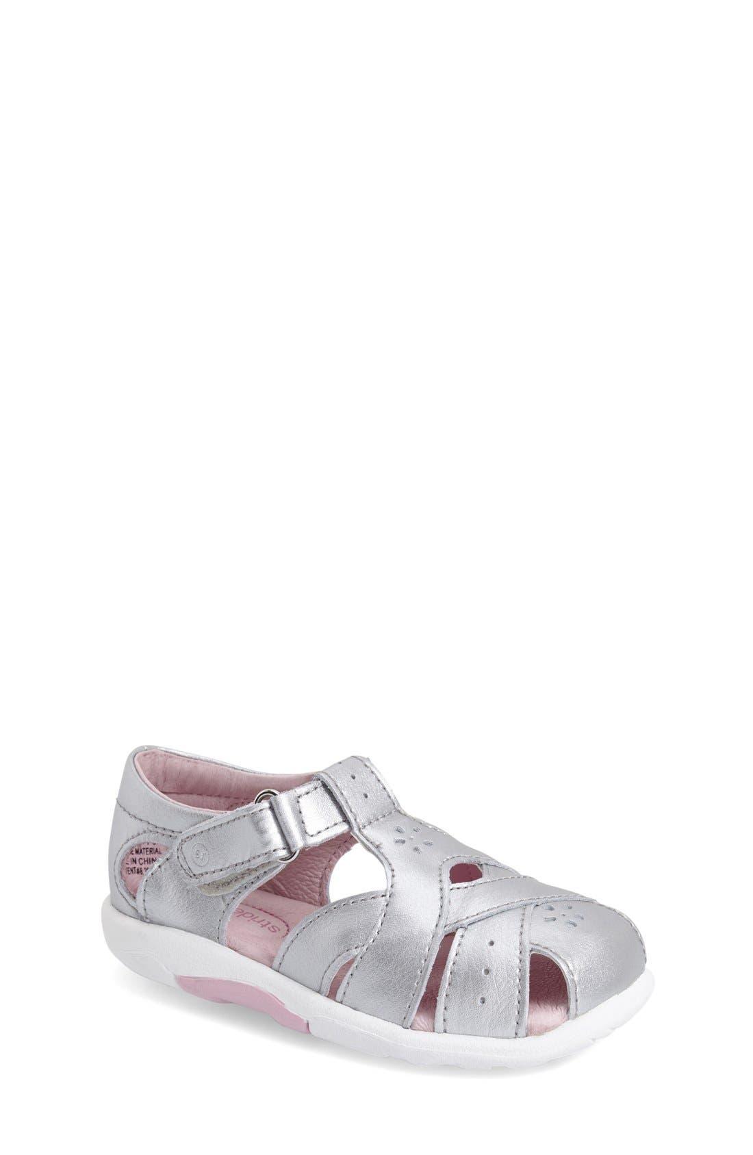 Alternate Image 1 Selected - Stride Rite 'Tulip' Sandal (Baby, Walker & Toddler)