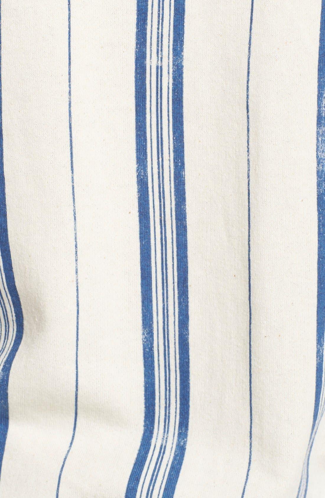 Alternate Image 5  - Element 'Gem' Stripe Lace-Up Hoodie