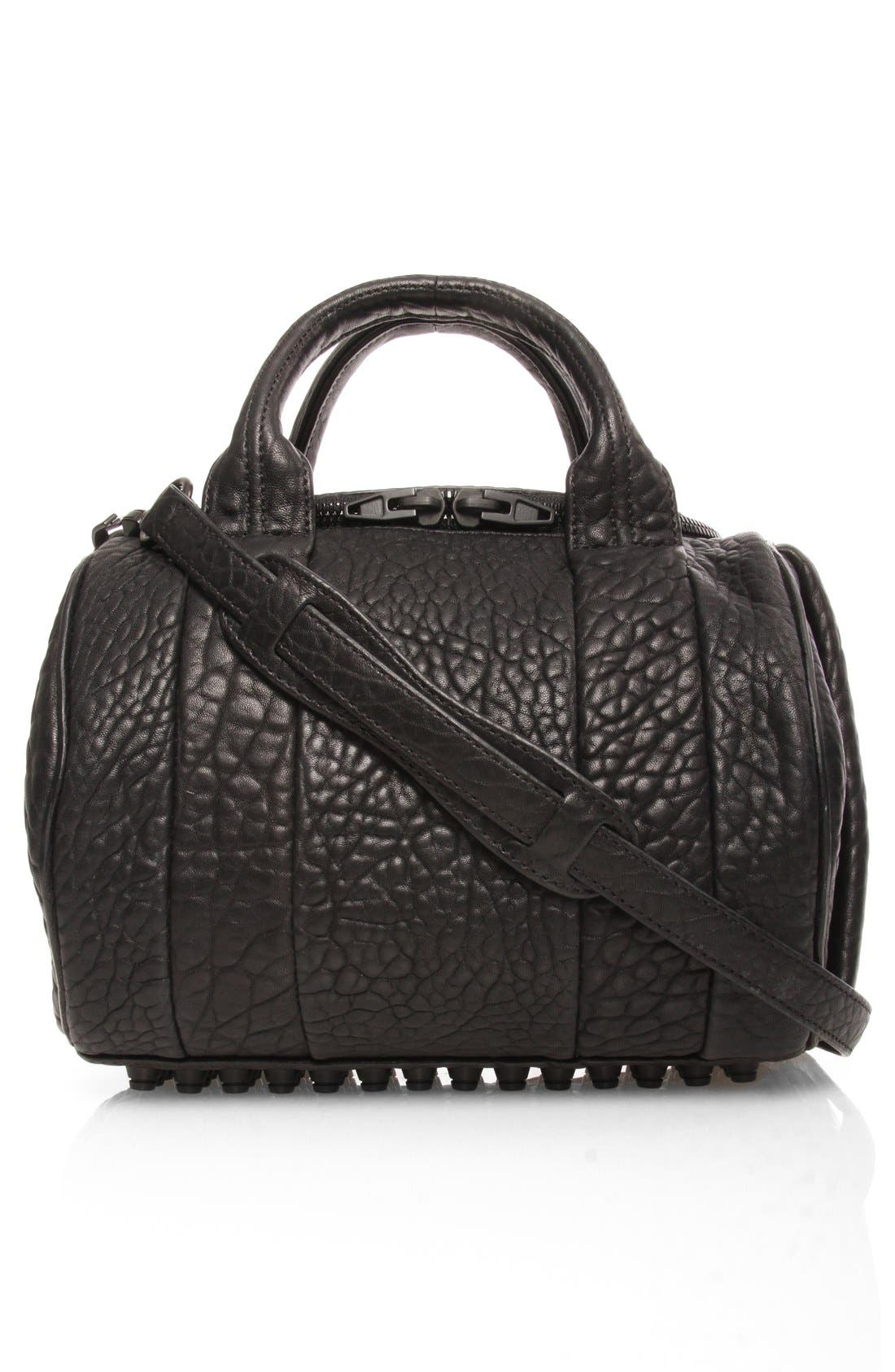 Main Image - Alexander Wang 'Rockie - Matte' Leather Crossbody Satchel
