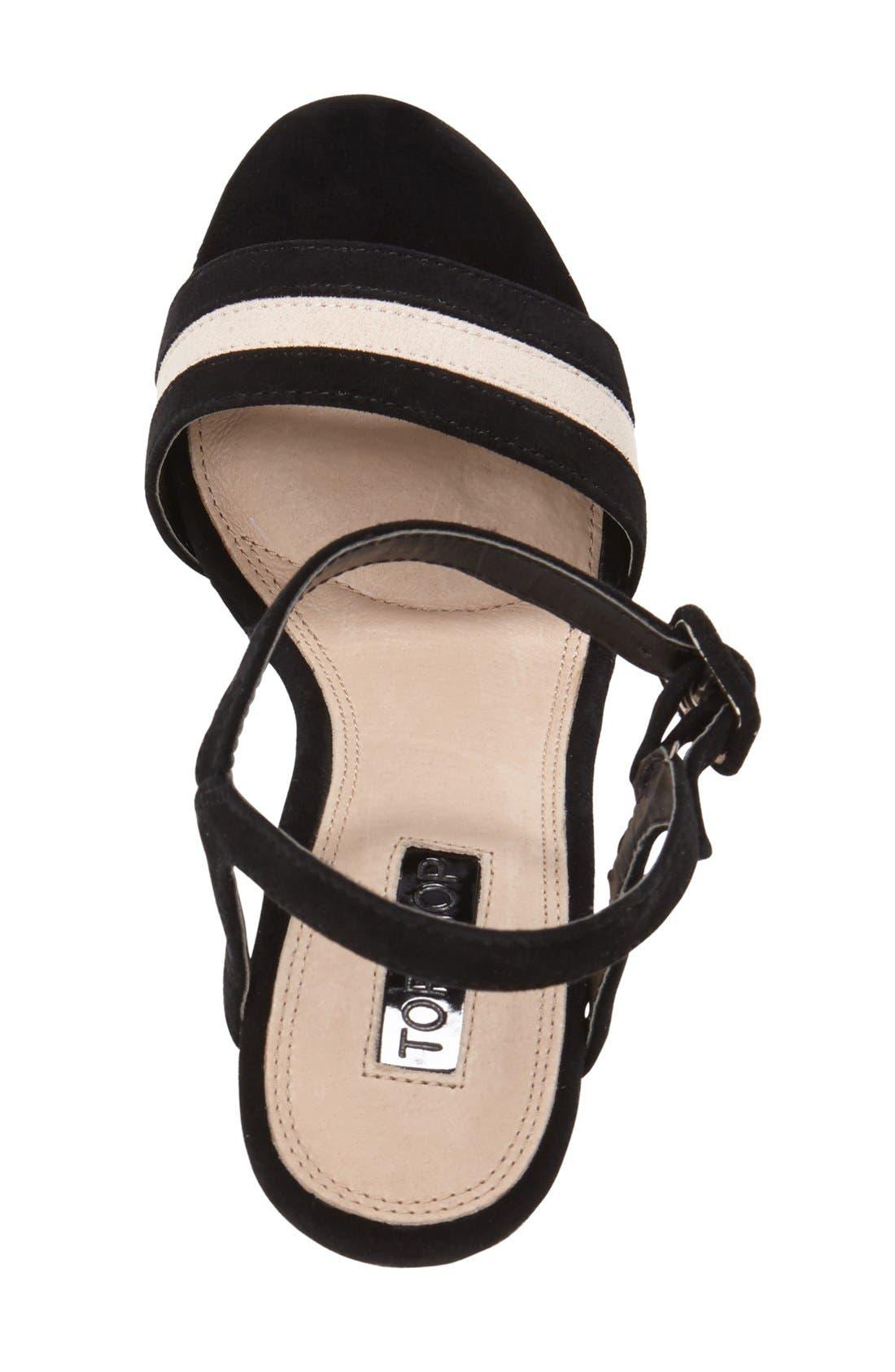 Alternate Image 3  - Topshop 'Laker' Platform Sandal (Women)