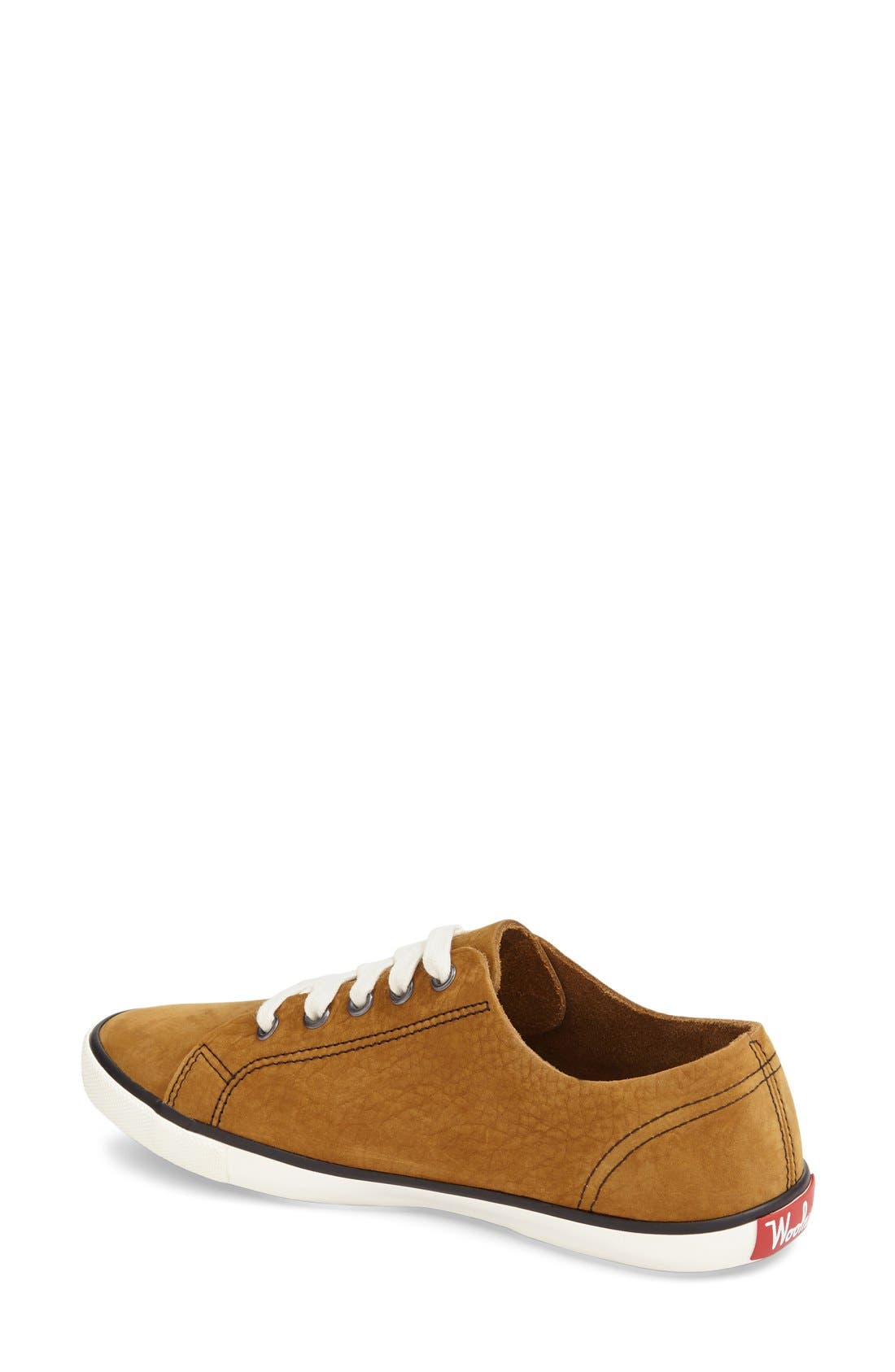 'Strand' Low-Top Sneaker,                             Alternate thumbnail 2, color,                             Toasty Nubuck