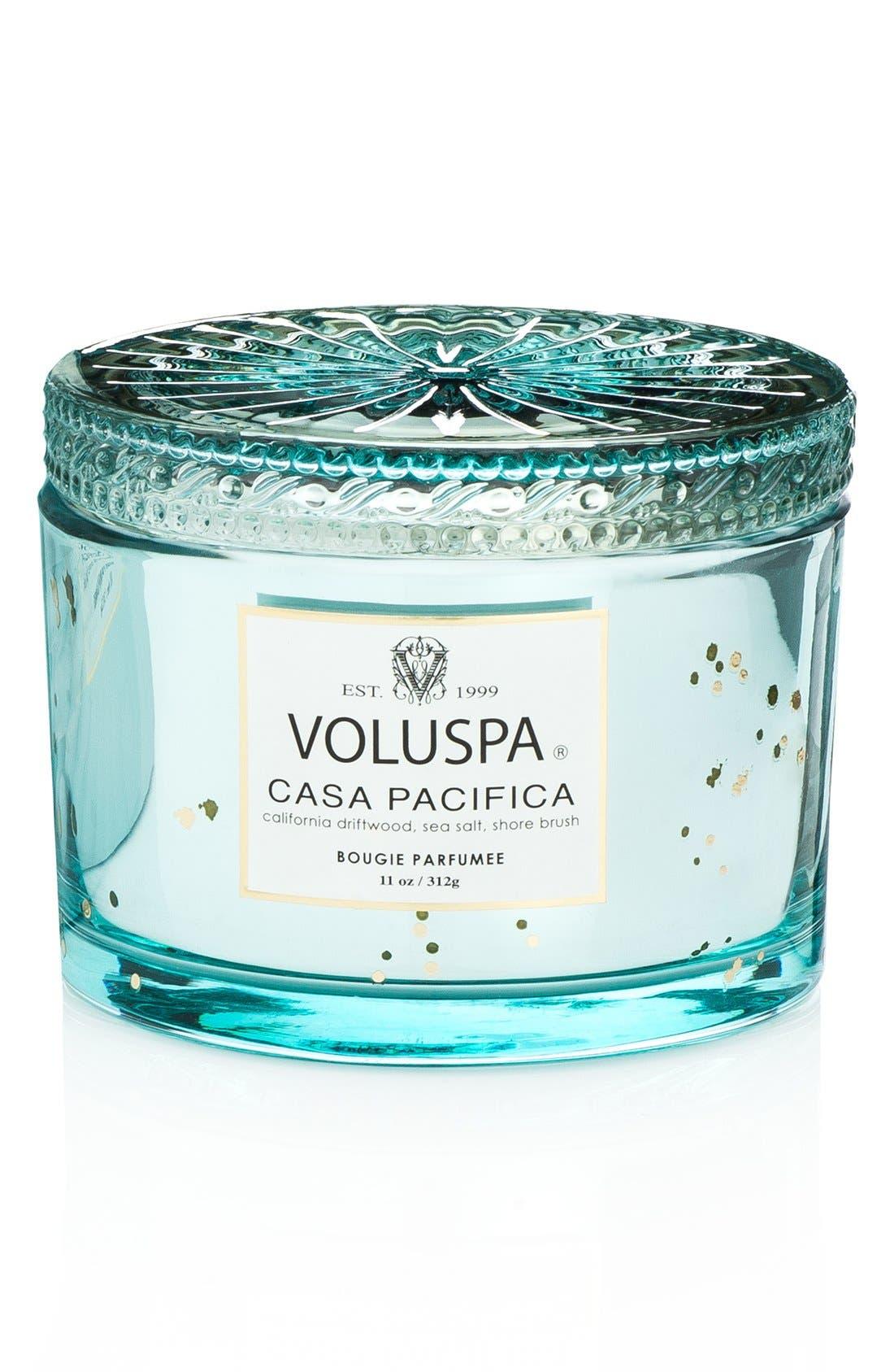 Main Image - Voluspa 'Maison Blanc - Casa Pacifica' Boxed Lidded Candle