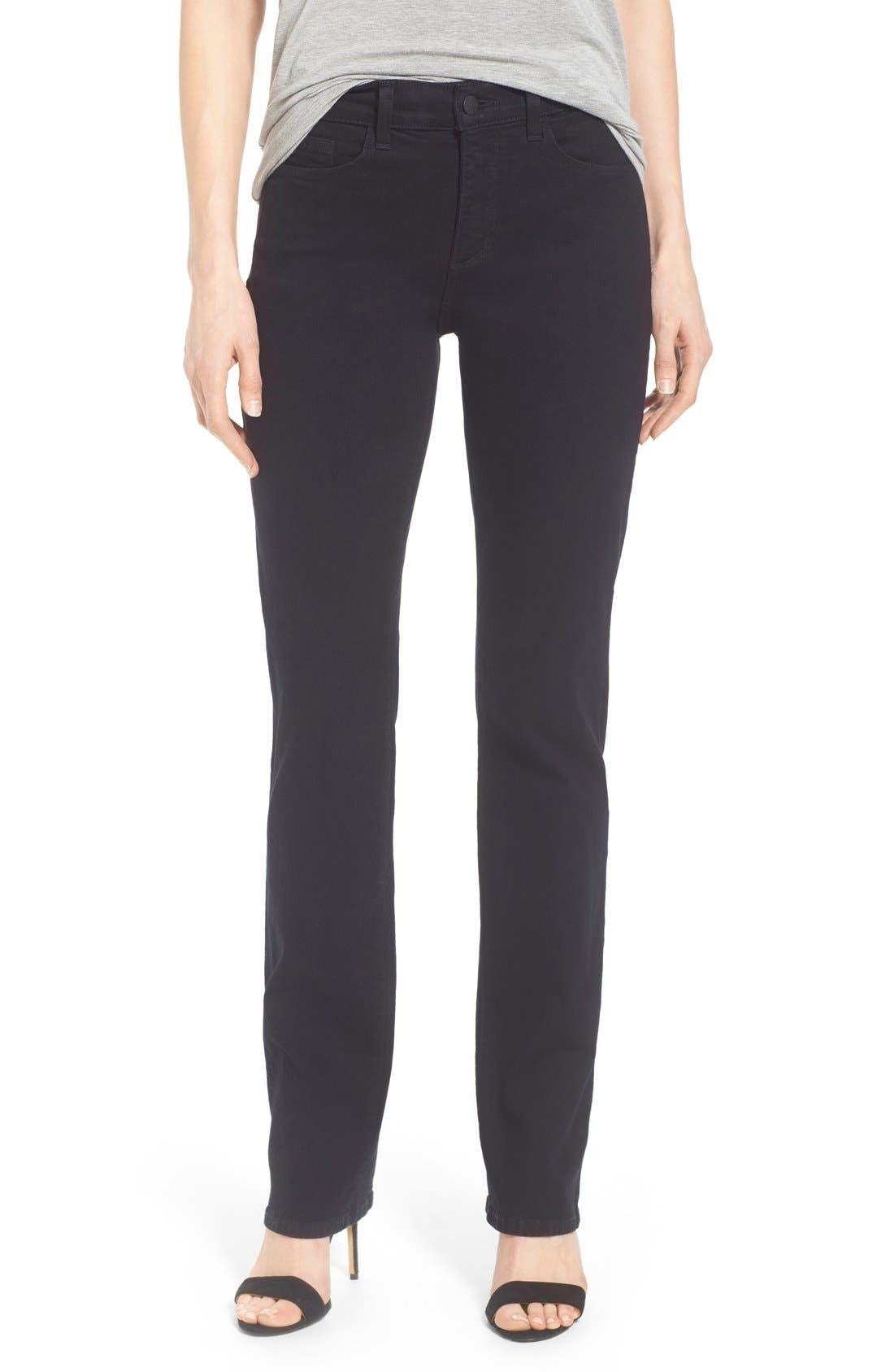 Alternate Image 1 Selected - NYDJ Straight Leg Stretch Jeans
