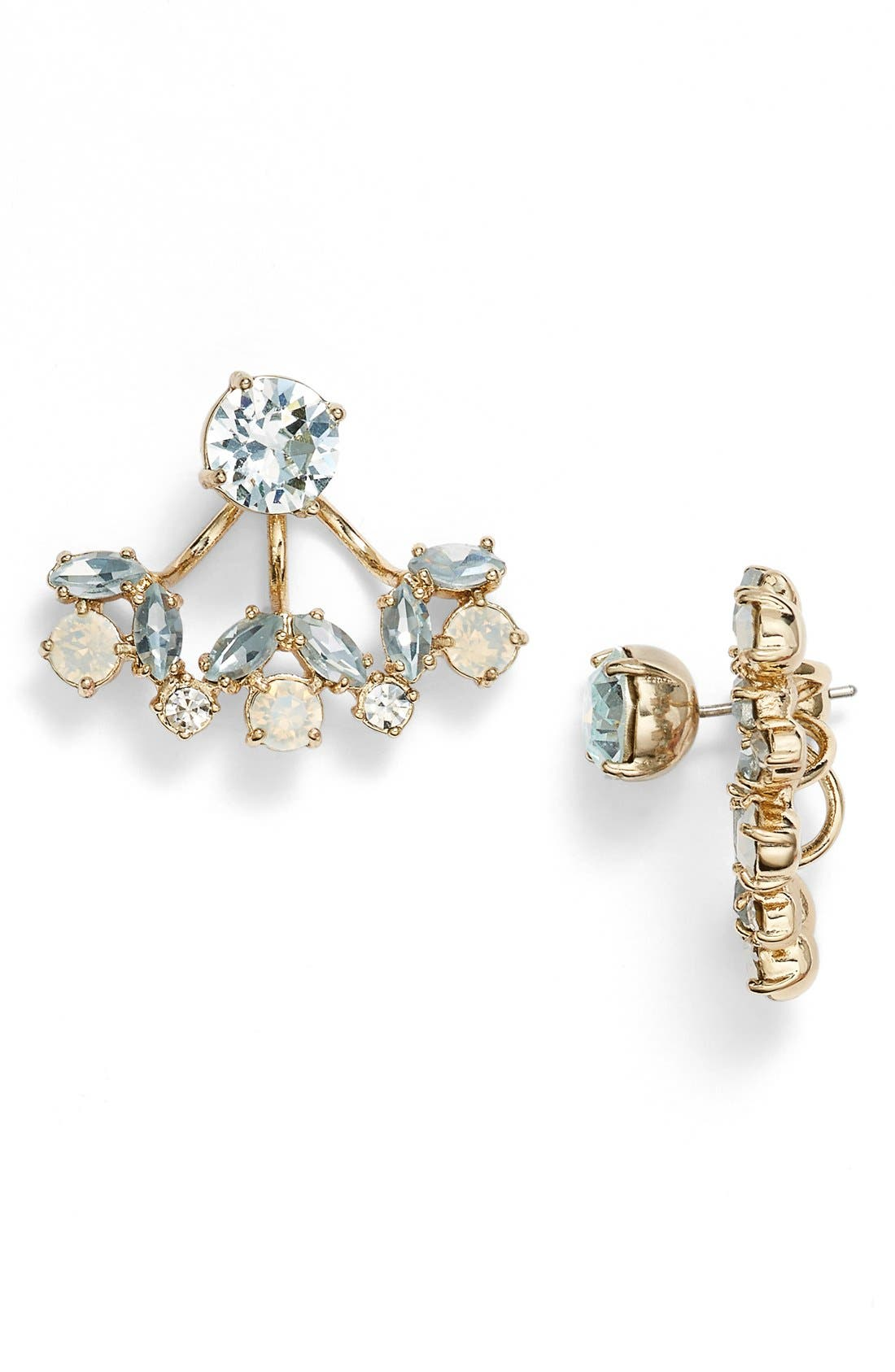 Alternate Image 1 Selected - Marchesa Crystal Ear Jackets