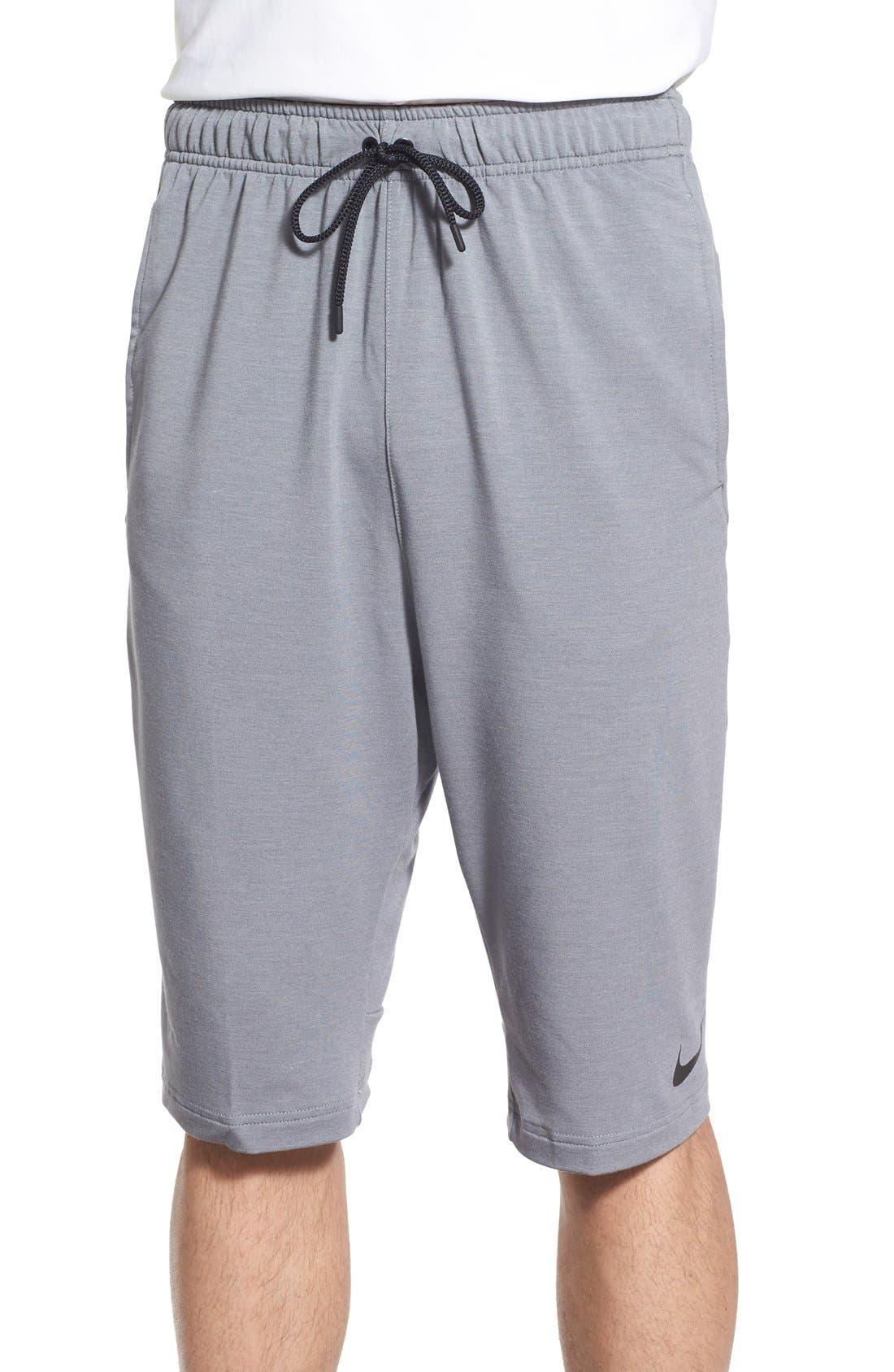 Nike Dri-FIT Fleece Training Shorts | Nordstrom