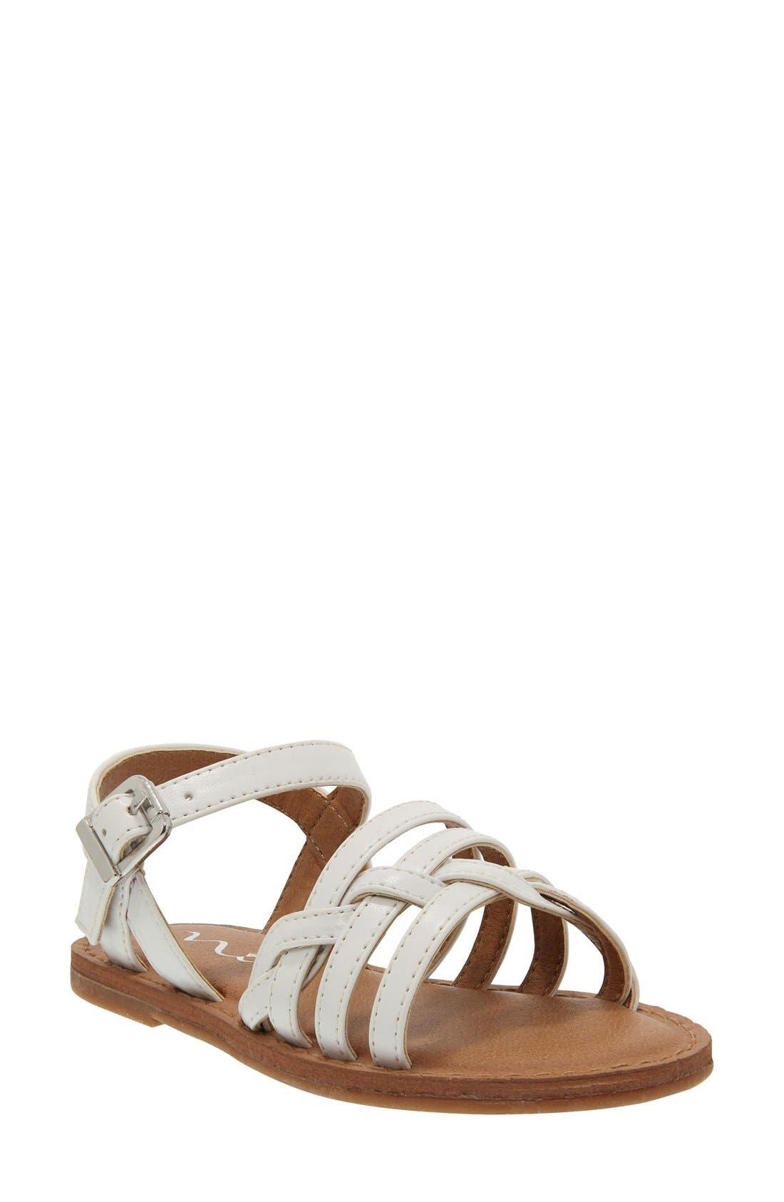 Alternate Image 1 Selected - Nina 'Clari' Sandal (Walker & Toddler)