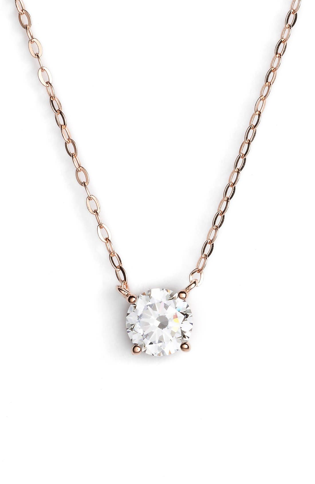 Nadri Cubic Zirconia Pendant Necklace