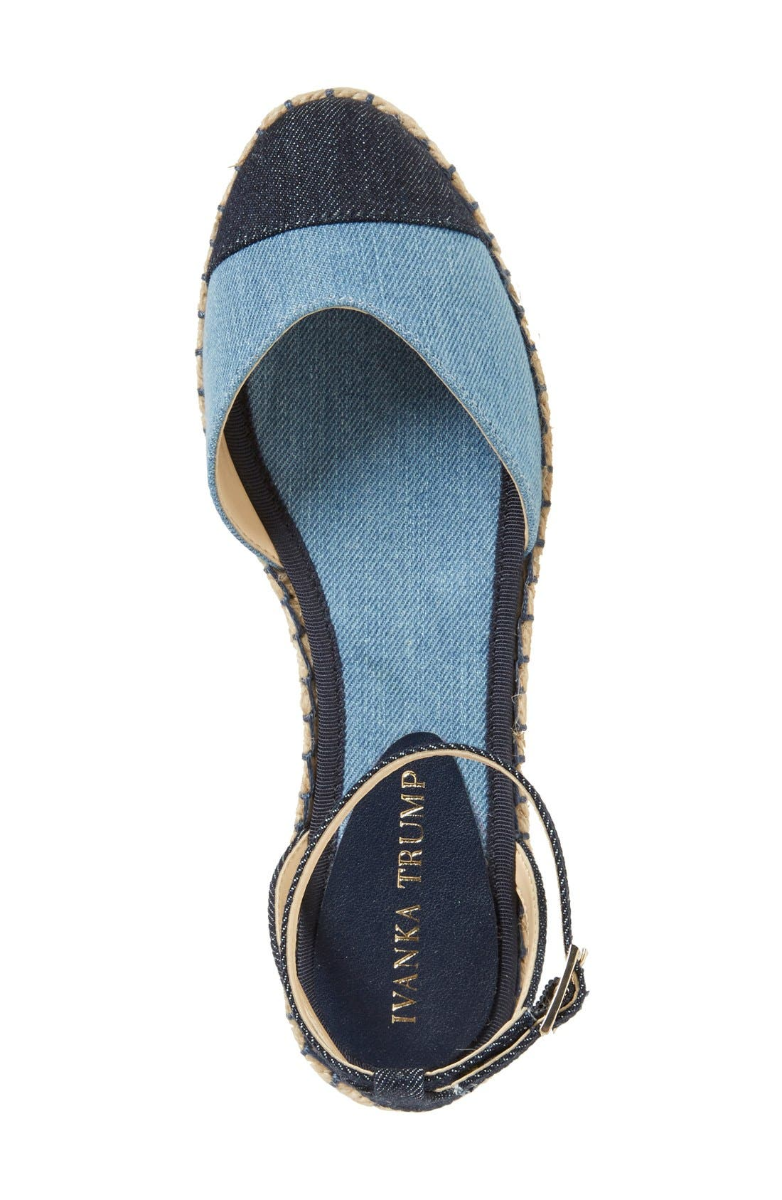 Alternate Image 3  - Ivanka Trump 'Rion' Ankle Strap Espadrille Flat (Women)