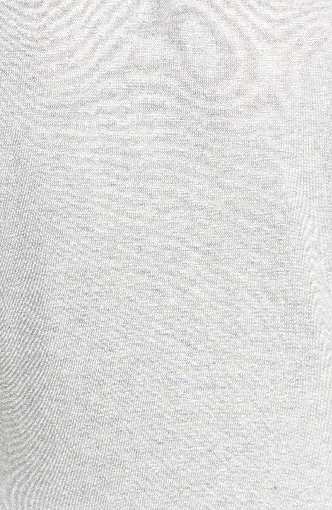 Alternate Image 5  - Halogen® Three Quarter Sleeve Cardigan (Regular & Petite)