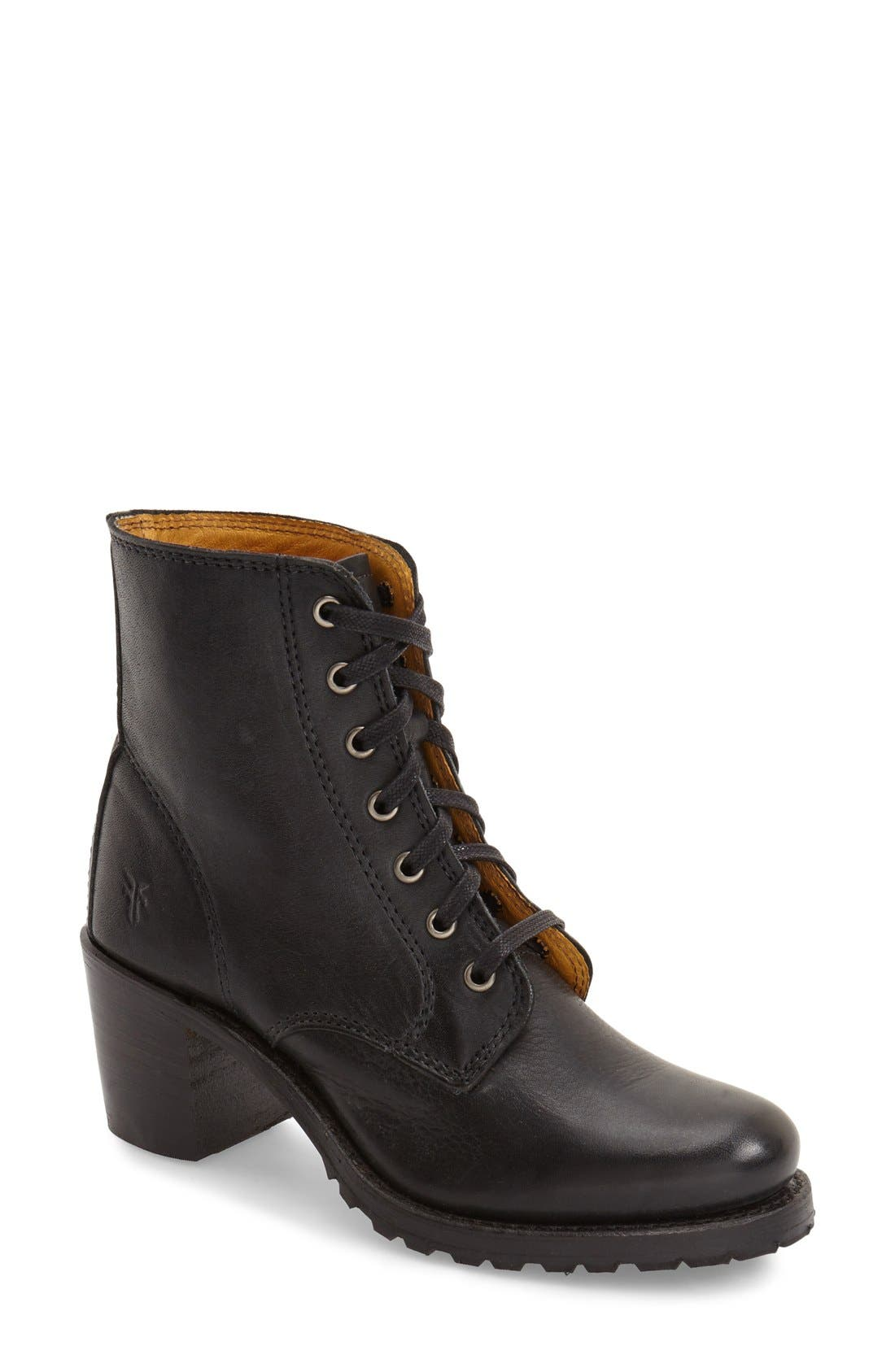 'Sabrina' Boot,                         Main,                         color, Black