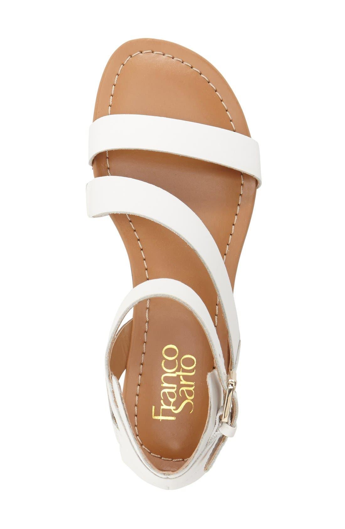 Alternate Image 3  - Franco Sarto 'Gracie' Ankle Strap Sandal (Women)