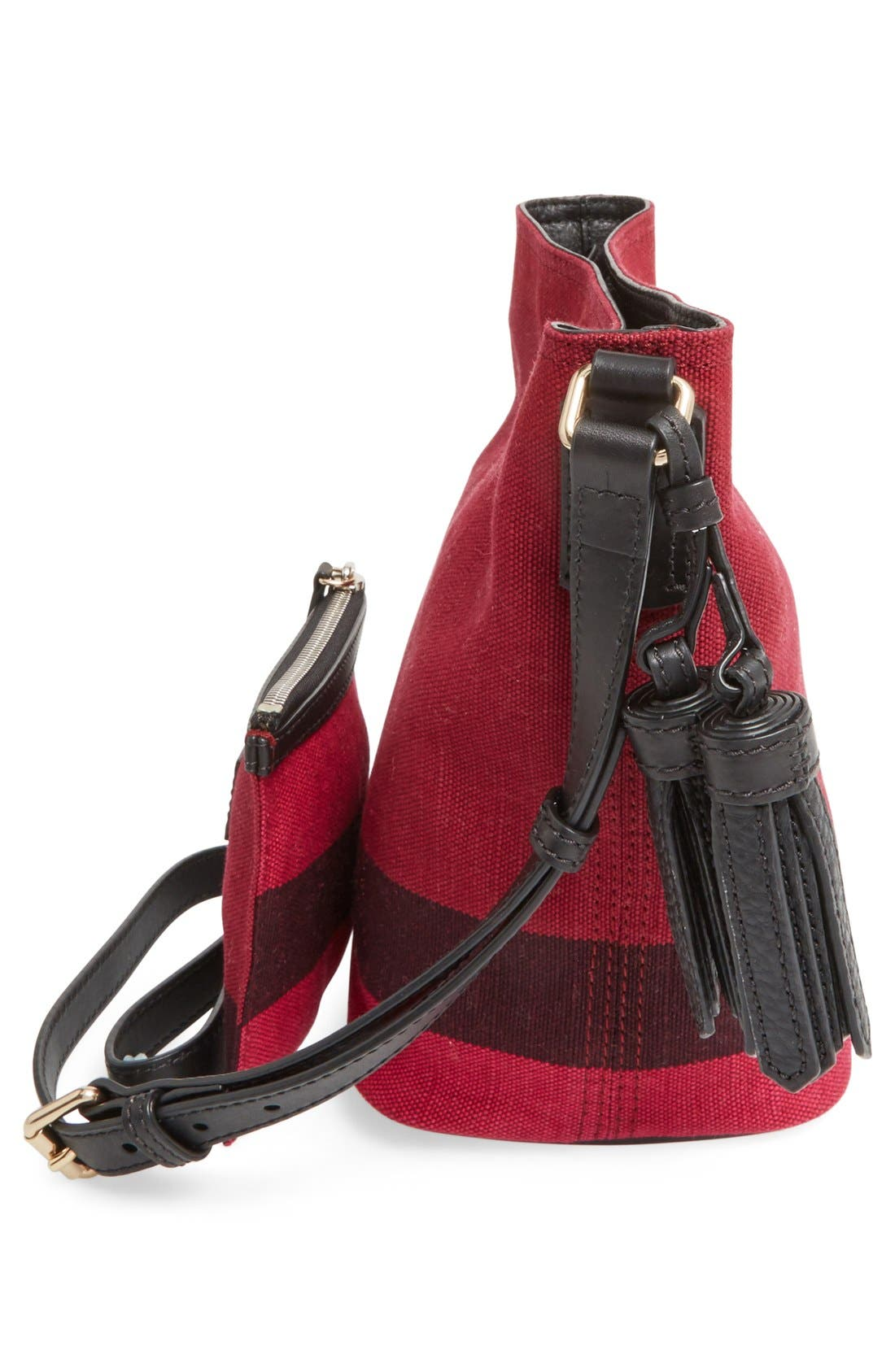 Alternate Image 5  - Burberry 'Mini Ashby' Bucket Bag