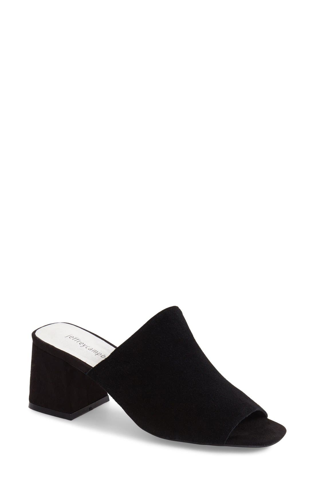 Jeffrey Campbell 'Perpetua' Open Toe Mule (Women)