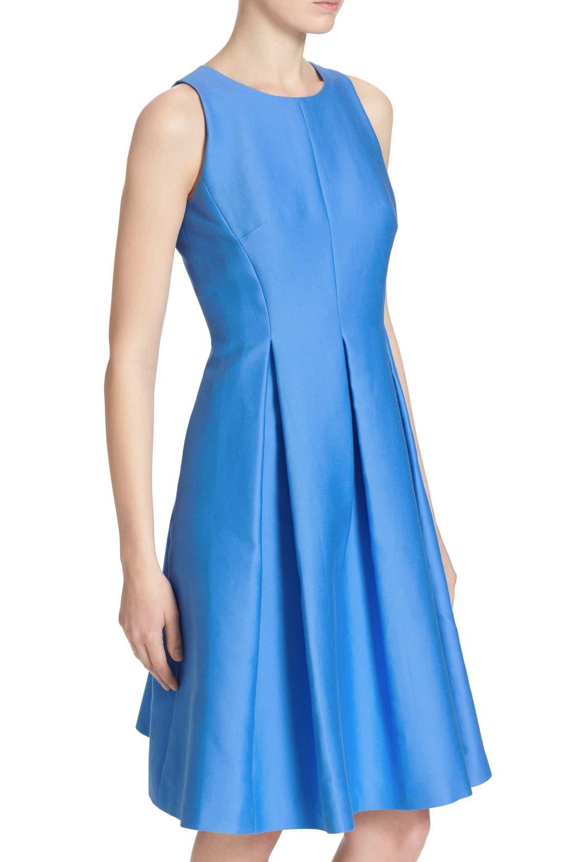 Alternate Image 4  - kate spade new york cotton silk fit & flare dress