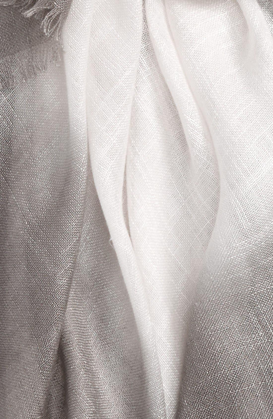 Alternate Image 3  - Nordstrom Dip Dye Wrap Scarf