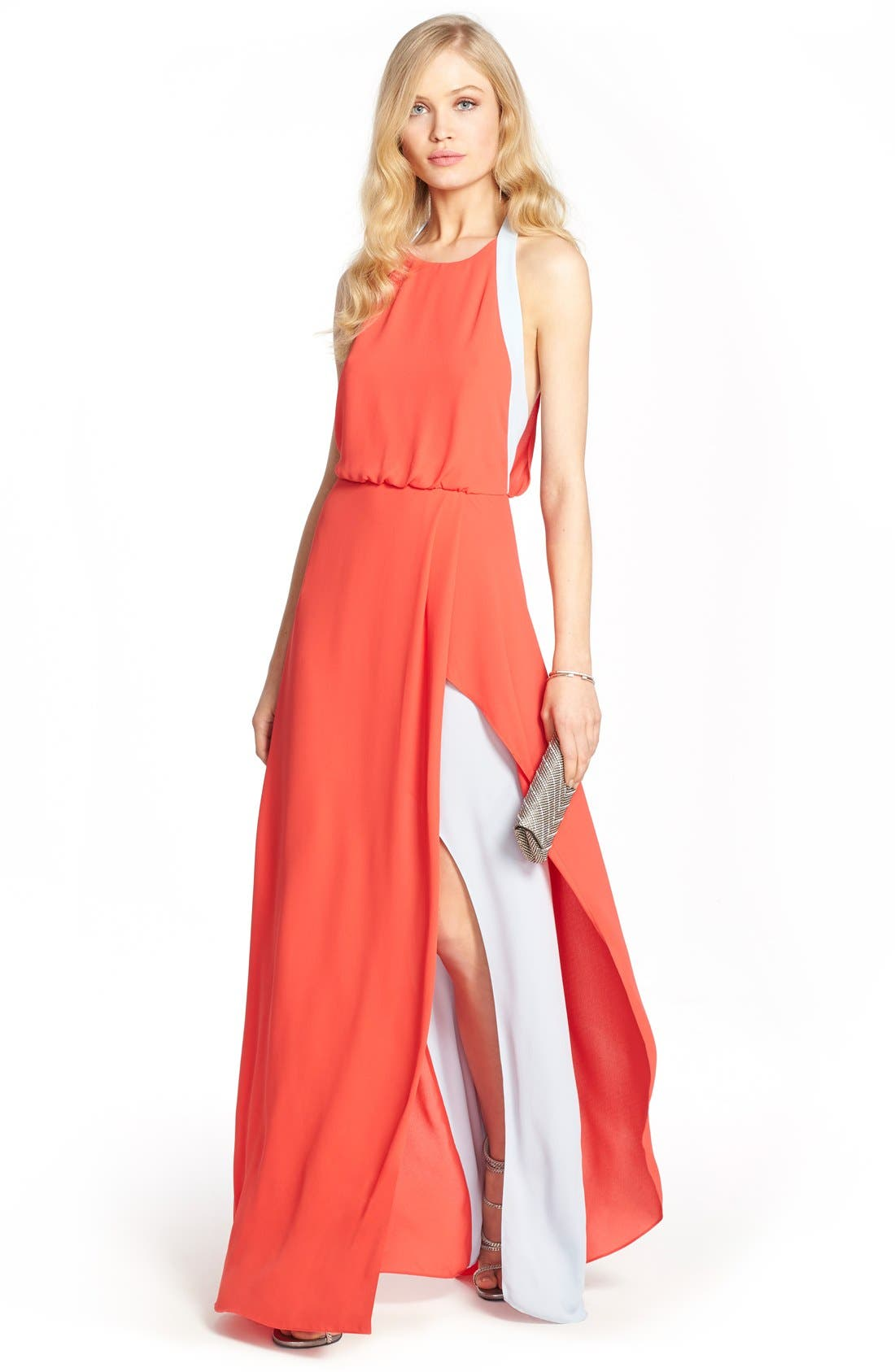 BCBGMAXAZRIA Maxi Dress & Accessories