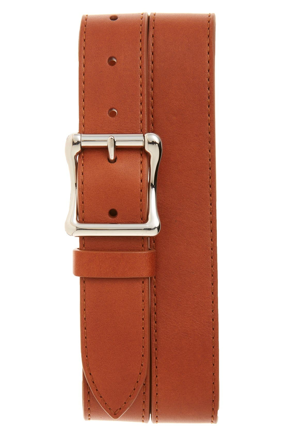 Alternate Image 1 Selected - Shinola Leather Roller Belt