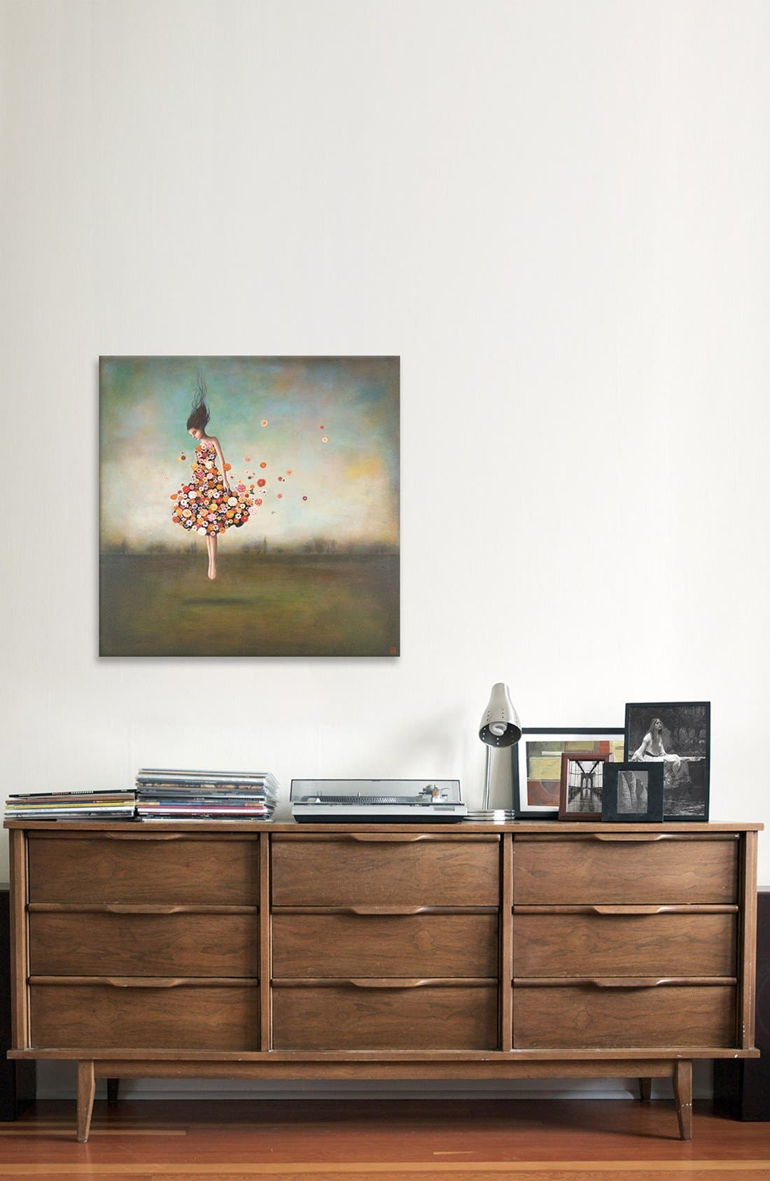 Alternate Image 2  - iCanvas 'Boundlessness In Bloom' Giclée Print Canvas Art
