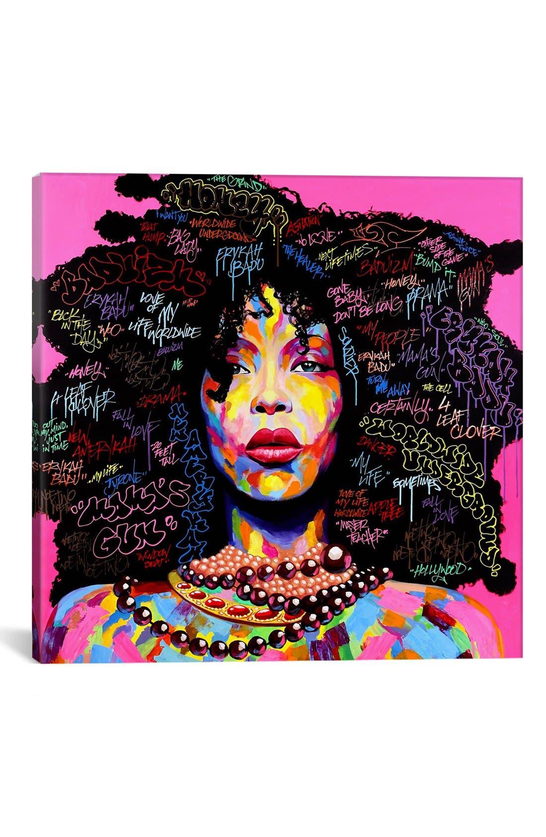 Main Image - iCanvas 'Baduyzm' Giclée Print Canvas Art