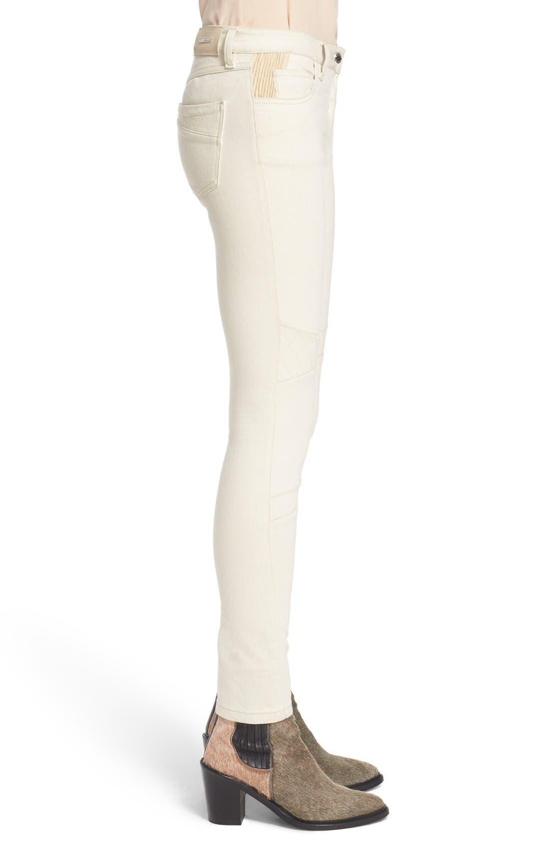 Alternate Image 5  - Belstaff 'Byrds' Rib Trim Skinny Jeans