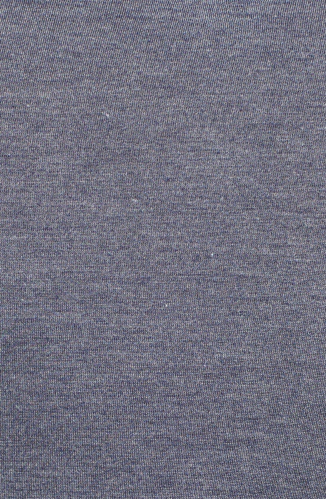 Alternate Image 5  - Calvin Klein 'Liquid Lounge' V-Neck T-Shirt