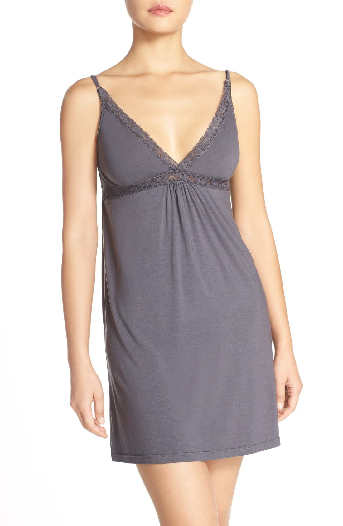 Alternate Image 1 Selected - Barefoot Dreams® Luxe Jersey Chemise