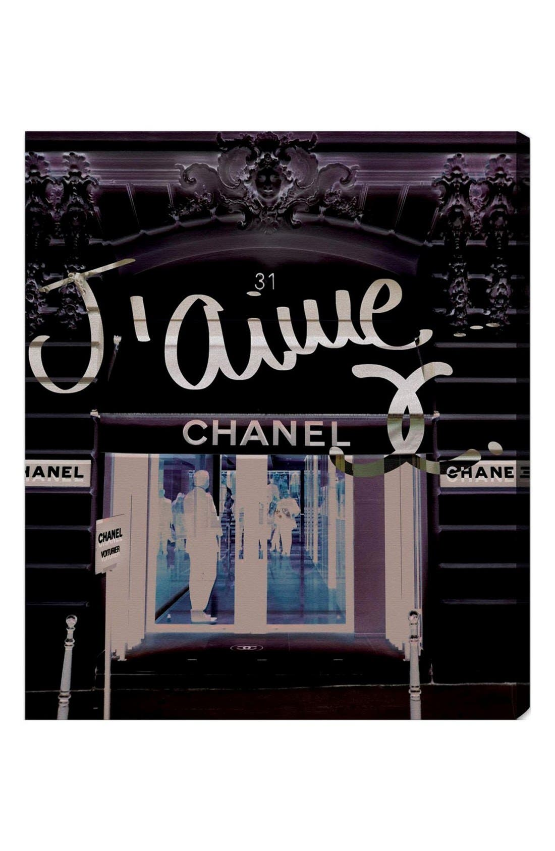 Alternate Image 1 Selected - Oliver Gal '31 Rue Cambon' Wall Art