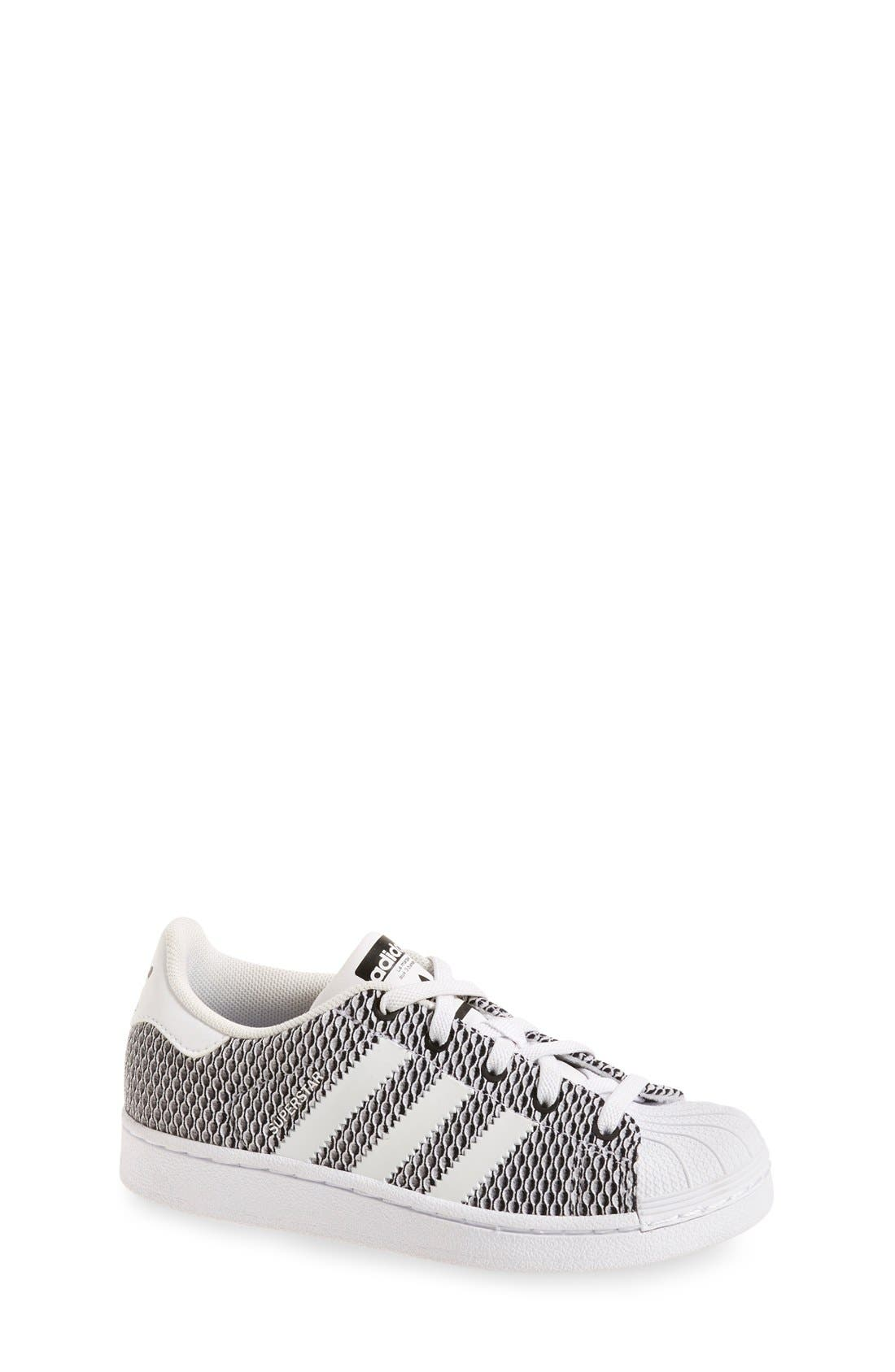 'Superstar - Color Shift' Sneaker,                         Main,                         color, Core Black