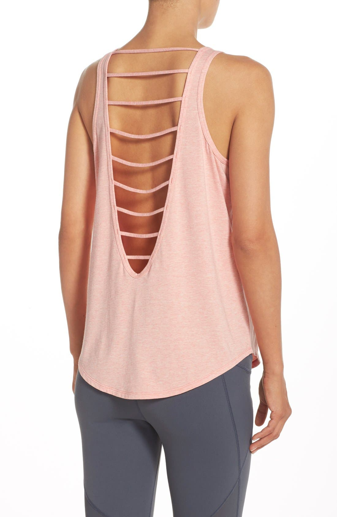 Alternate Image 1 Selected - Zella 'Getaway' Cutout Back Tank