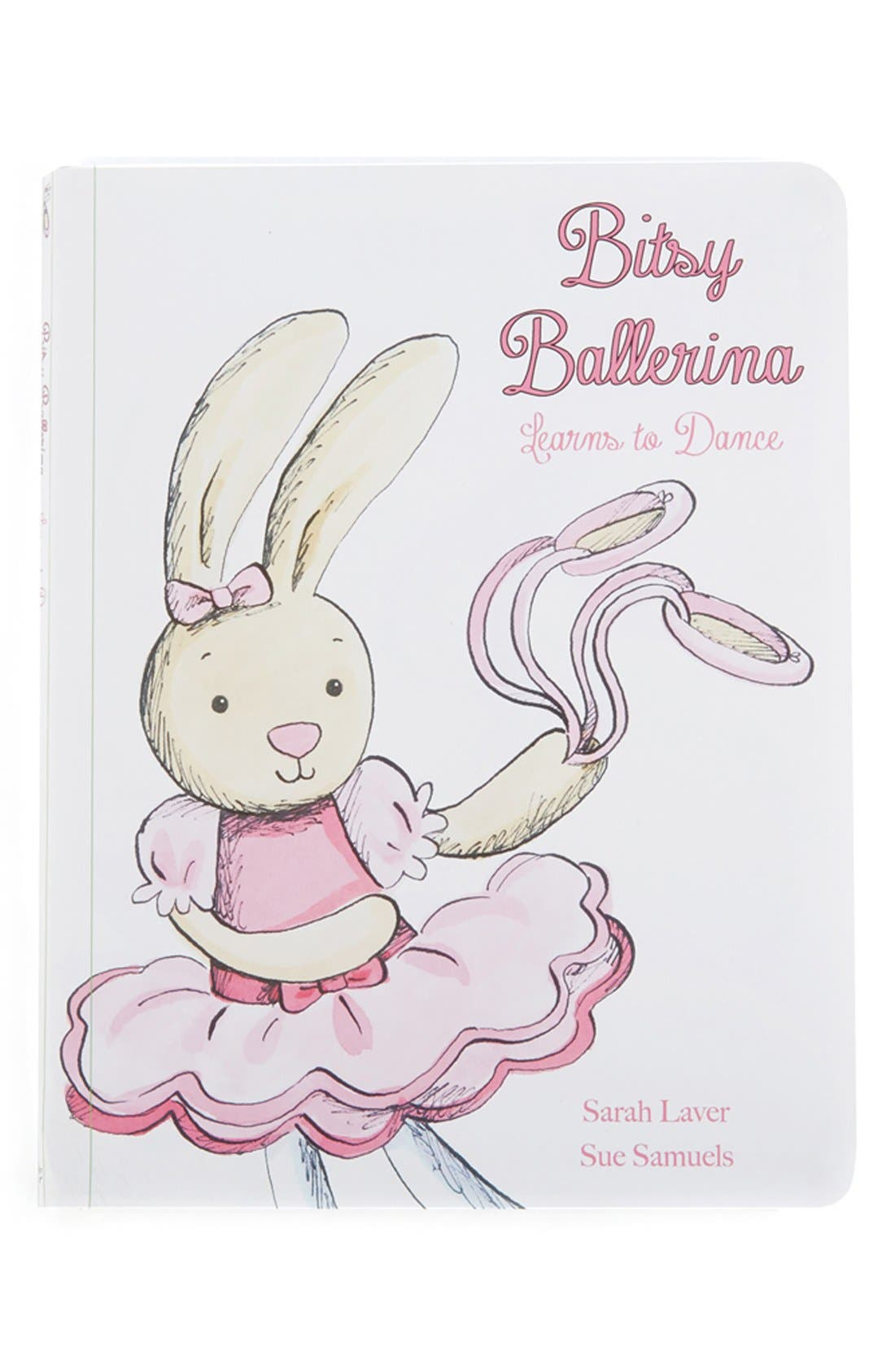 'Bitsy Ballerina Learns to Dance' Book,                         Main,                         color, Ivory/ Pink