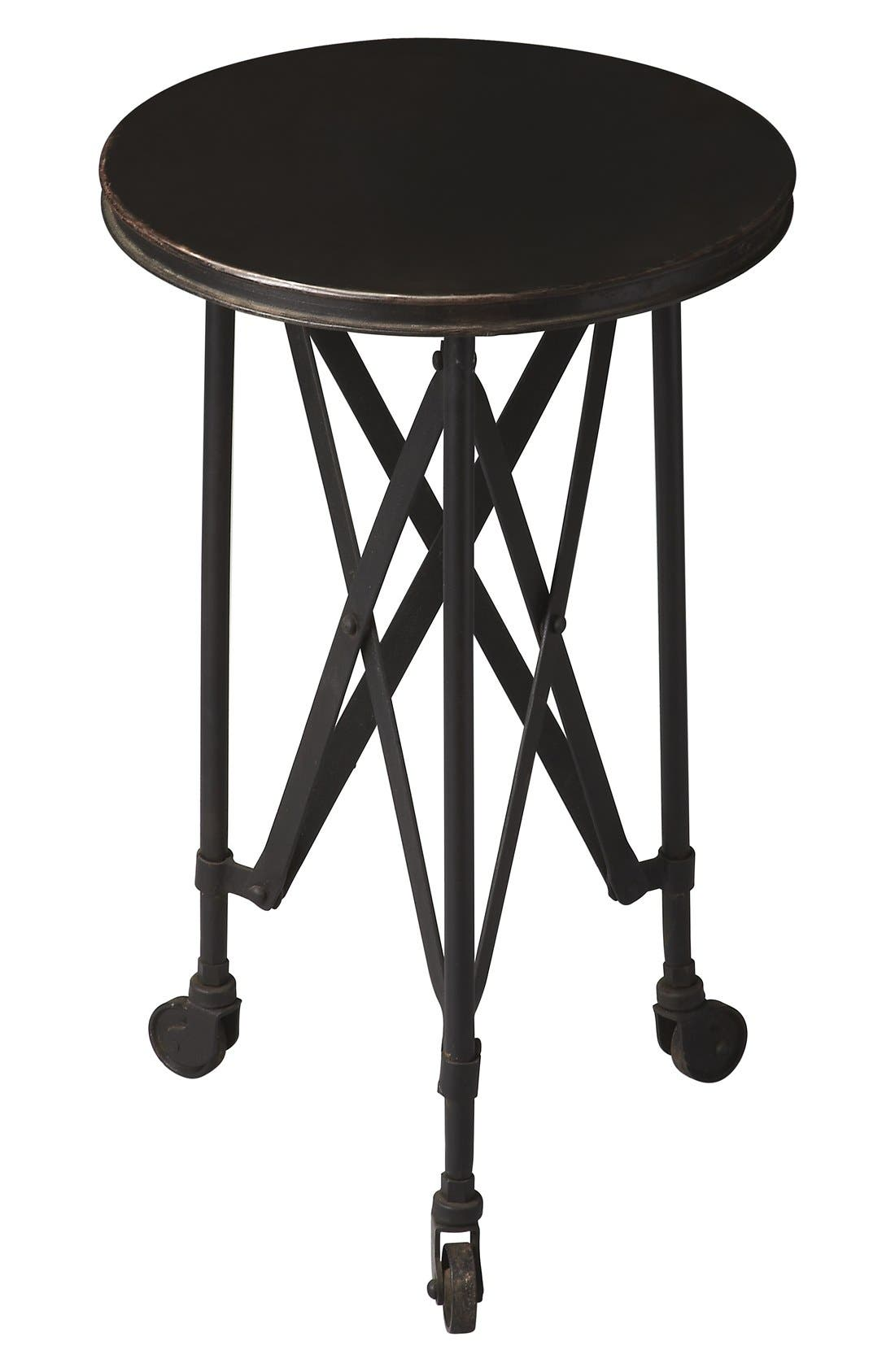 Iron Accent Table,                         Main,                         color, Black