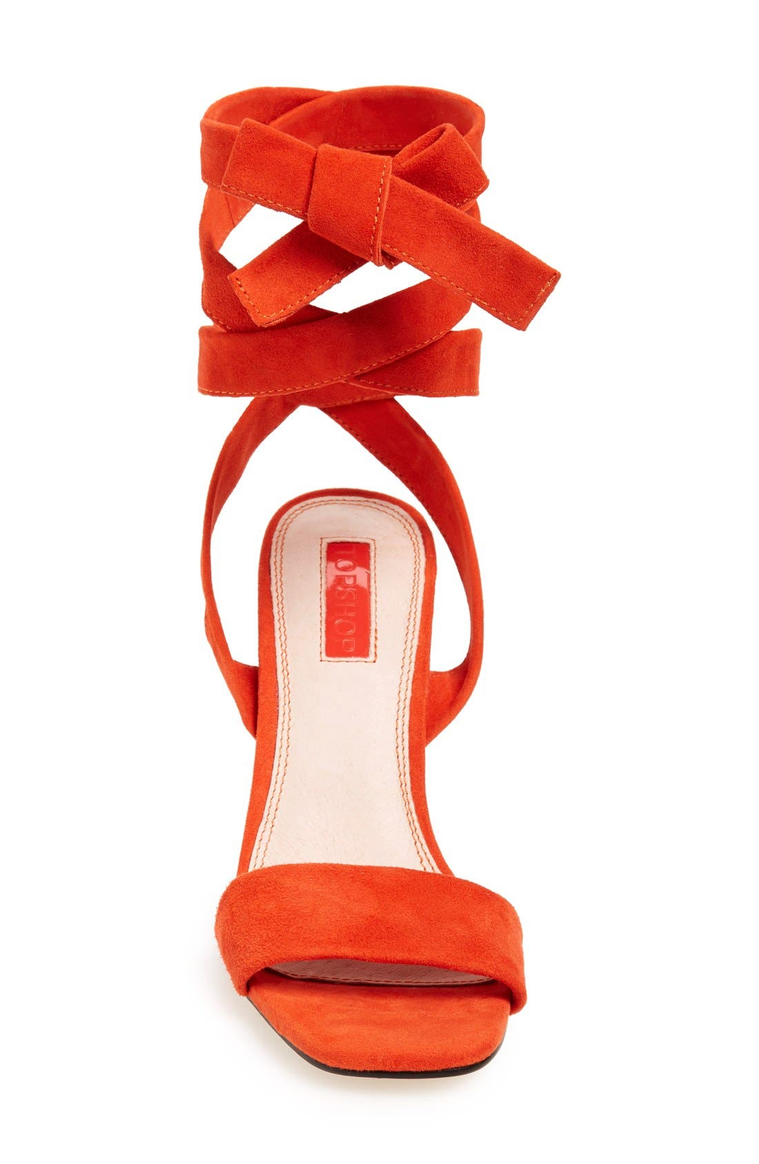 Alternate Image 3  - Topshop 'Rapping' Ankle Strap Sandal (Women)