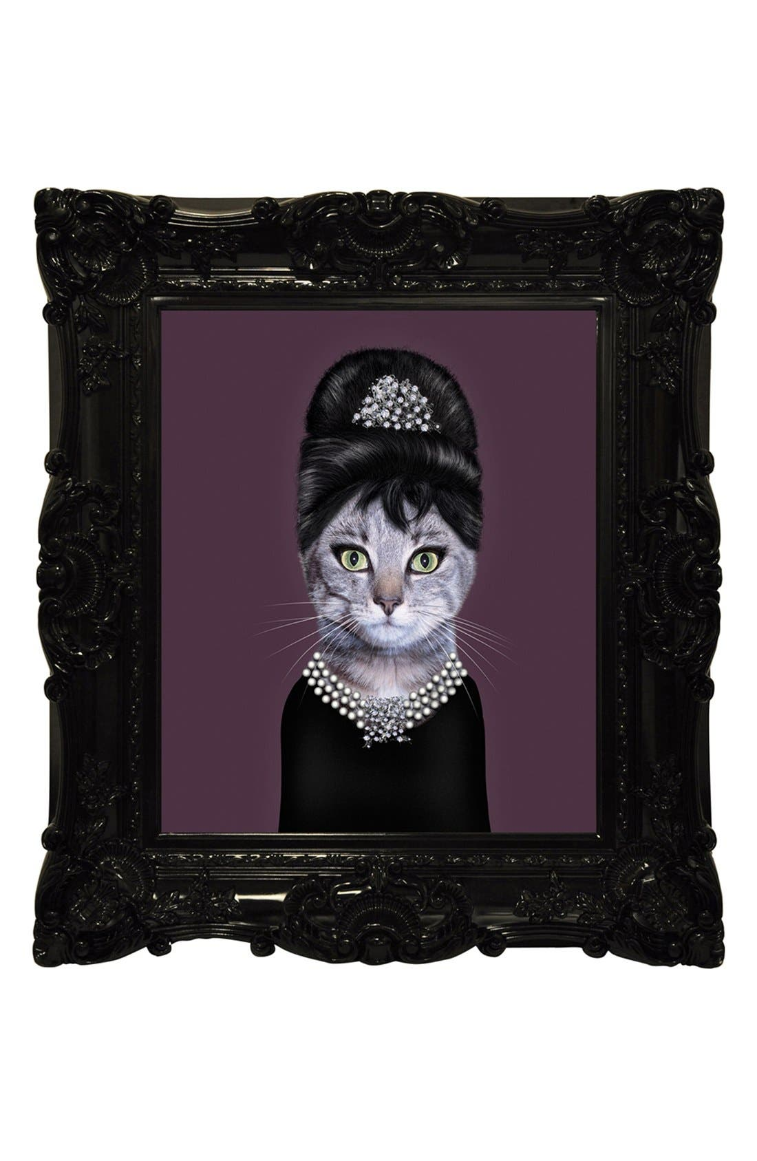 Alternate Image 1 Selected - Empire Art Direct 'Pets Rock™ - Breakfast' Framed Wall Art