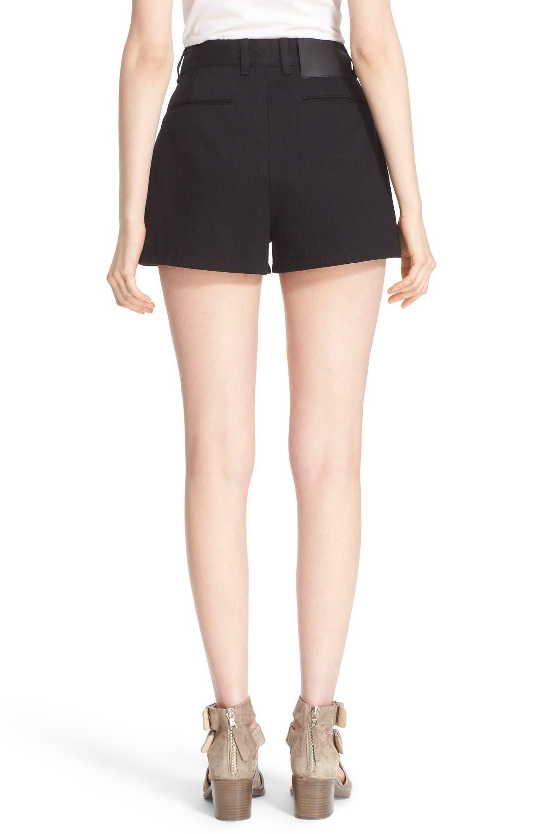 Alternate Image 2  - rag & bone 'Branson' High Waist Shorts