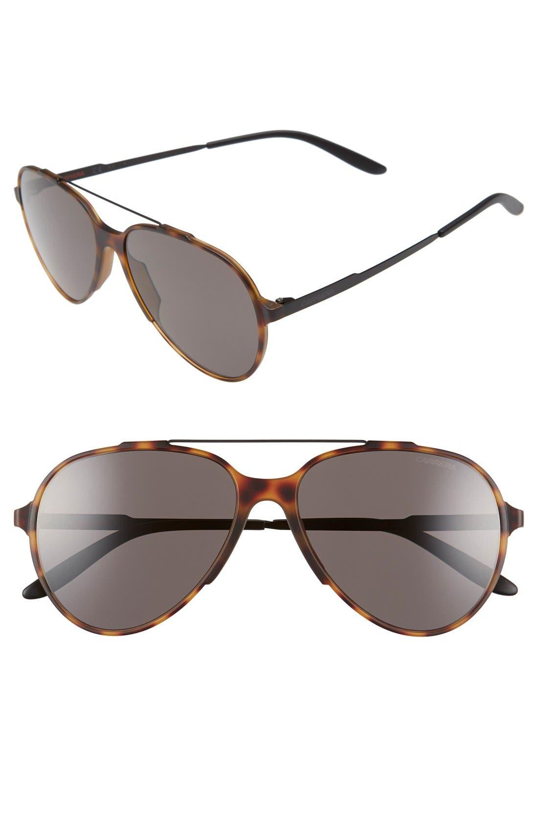 Carrera Eyewear '118/S' 57mm Sunglasses
