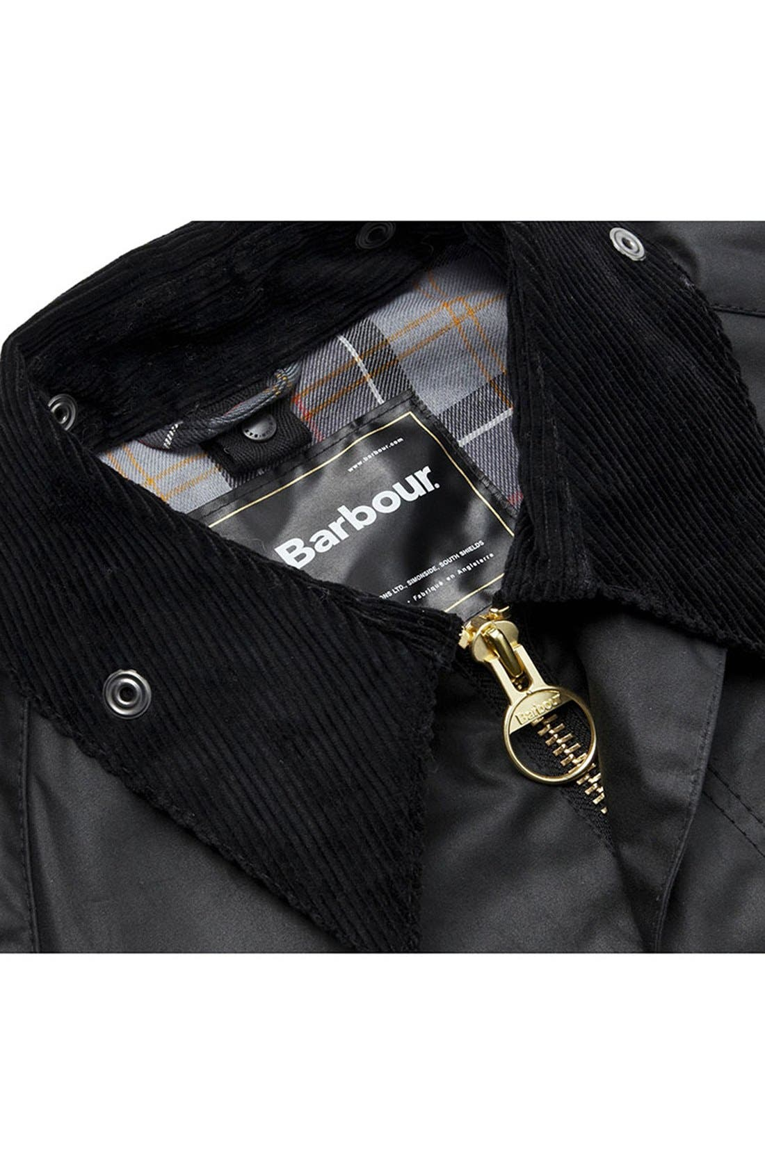 Alternate Image 6  - Barbour 'Bedale' Regular Fit Waxed Cotton Jacket