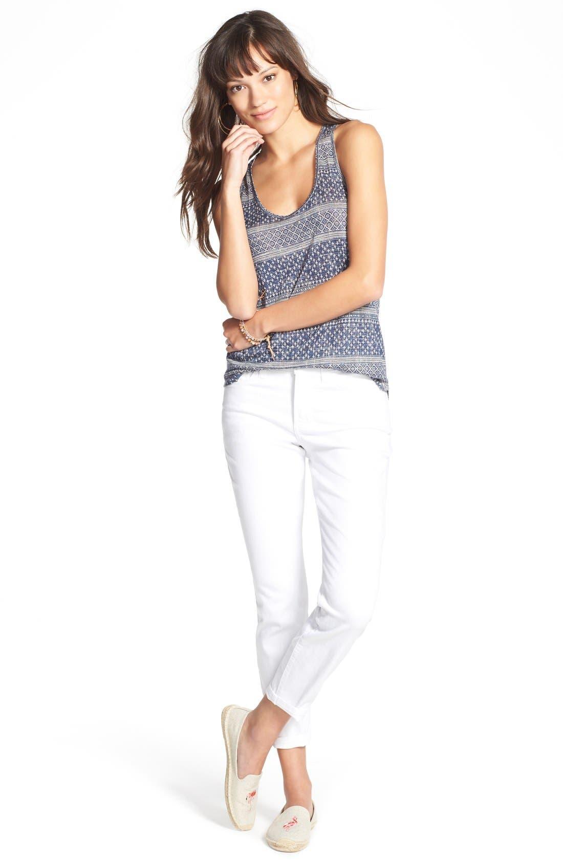Alternate Image 6  - NYDJ Clarissa Colored Stretch Ankle Skinny Jeans (Regular & Petite)