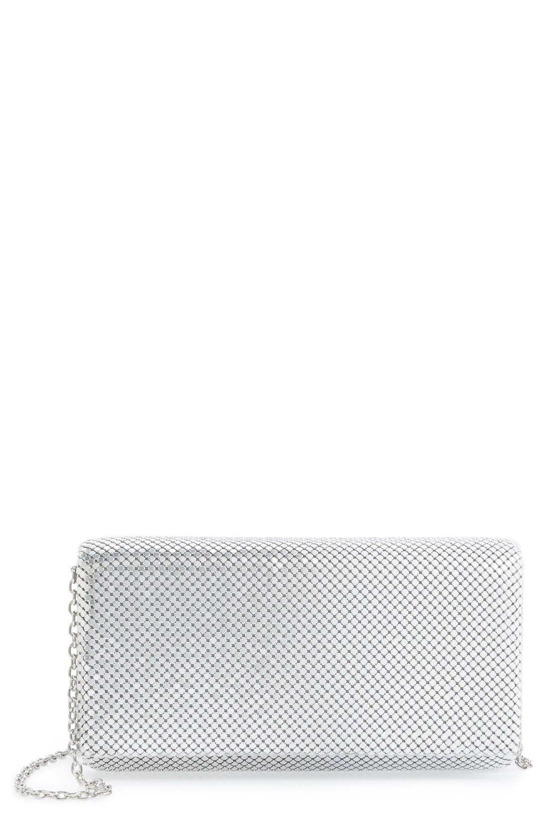 Alternate Image 1 Selected - Jessica McClintock Ombré Mesh Clutch