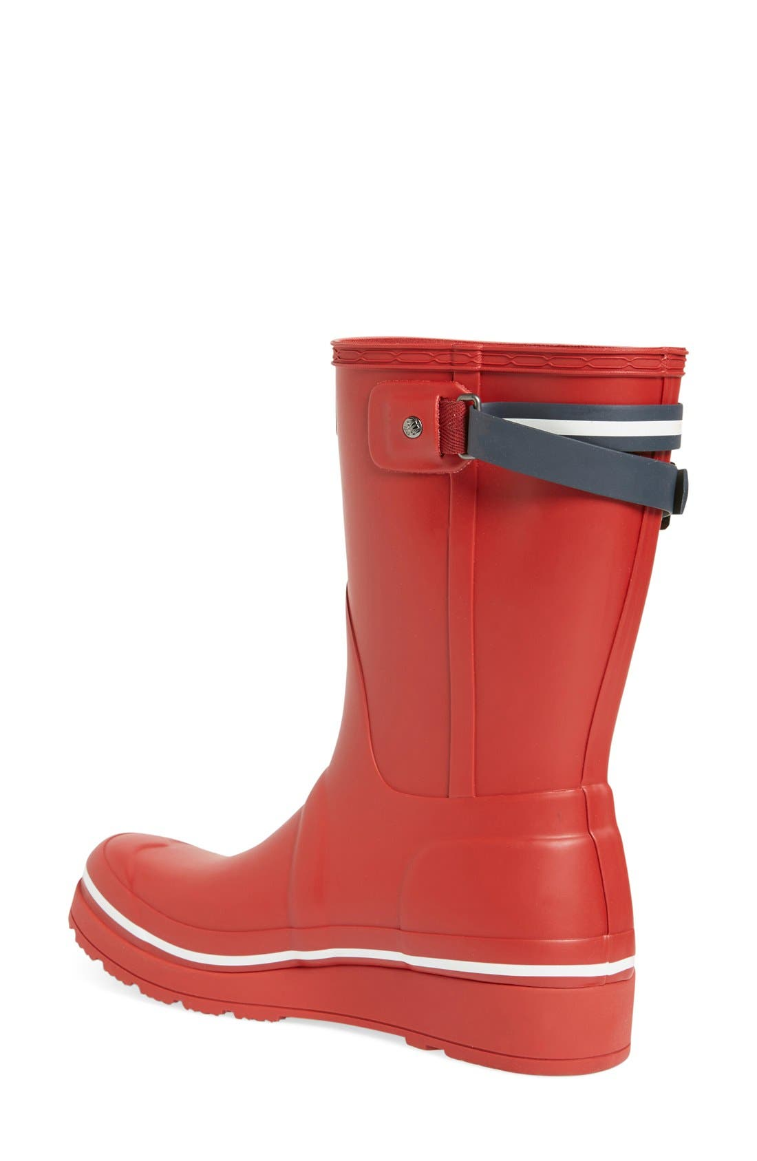 Alternate Image 2  - Hunter 'Original Short' Wedge Rain Boot (Women)