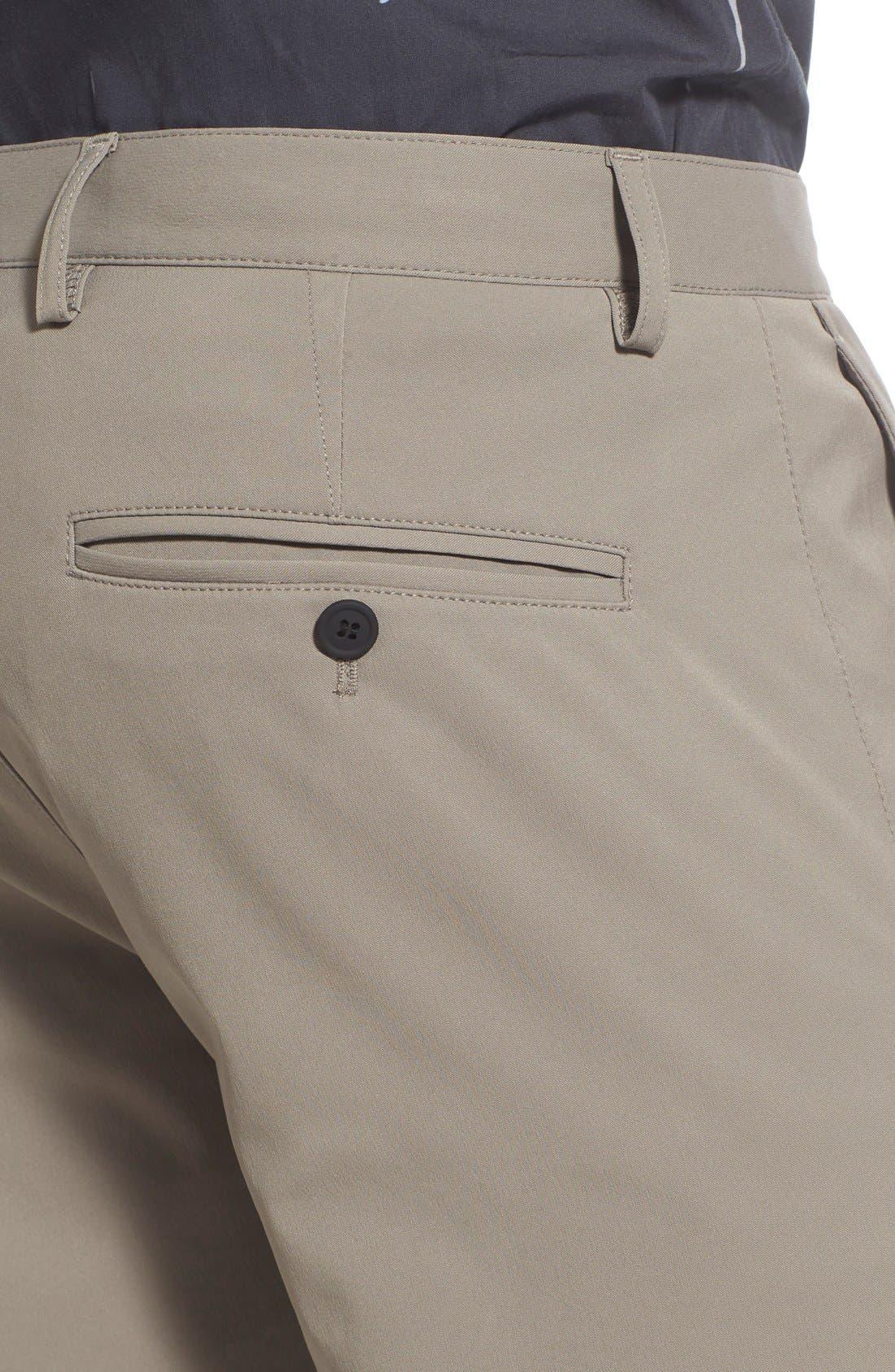 'Zaine Neoteric' Slim Fit Pants,                             Alternate thumbnail 4, color,                             Sidewalk