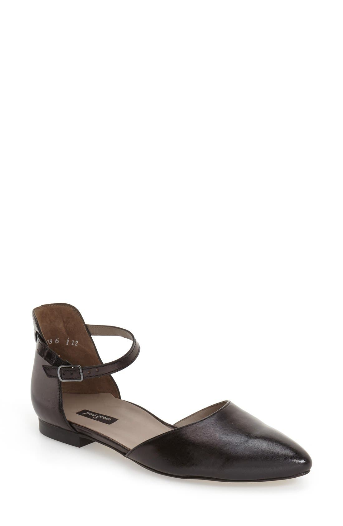 'Henly' Ankle Strap Flat, ...