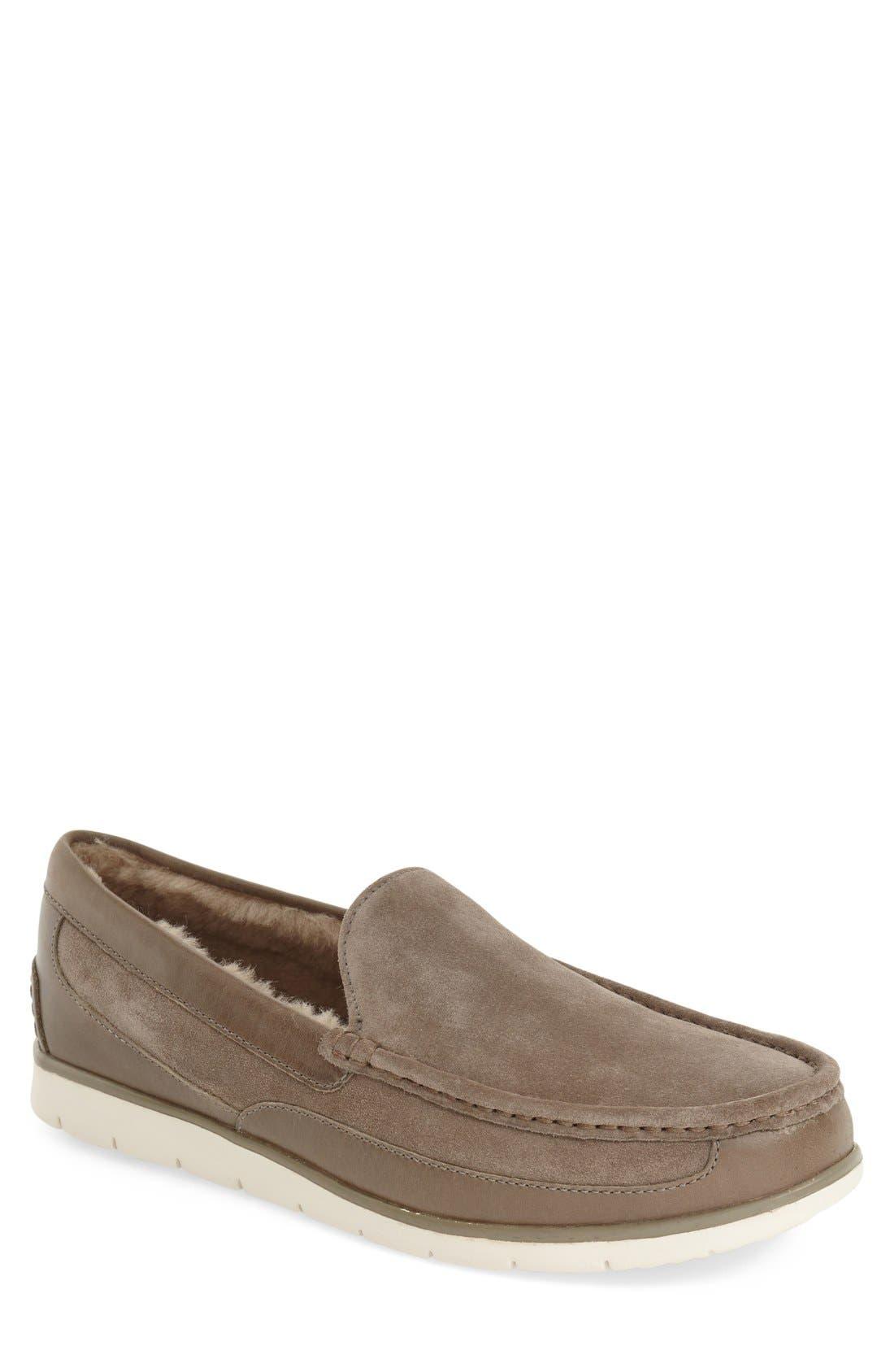 Alternate Image 1 Selected - UGG® Fascot Driving Shoe (Men)