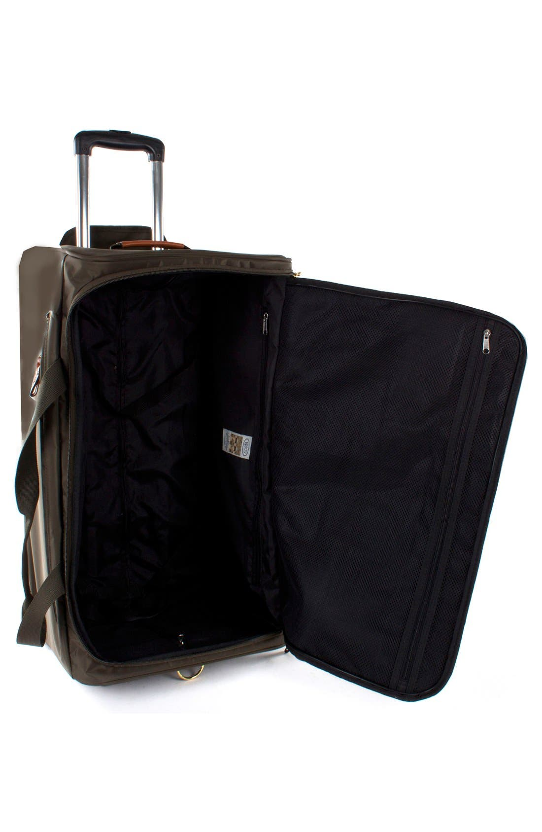 X-Bag 28-Inch Rolling Duffel Bag,                             Alternate thumbnail 3, color,                             Olive