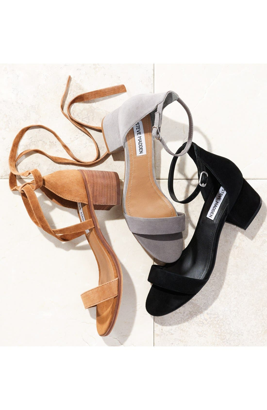 Irenee Ankle Strap Sandal,                             Alternate thumbnail 7, color,