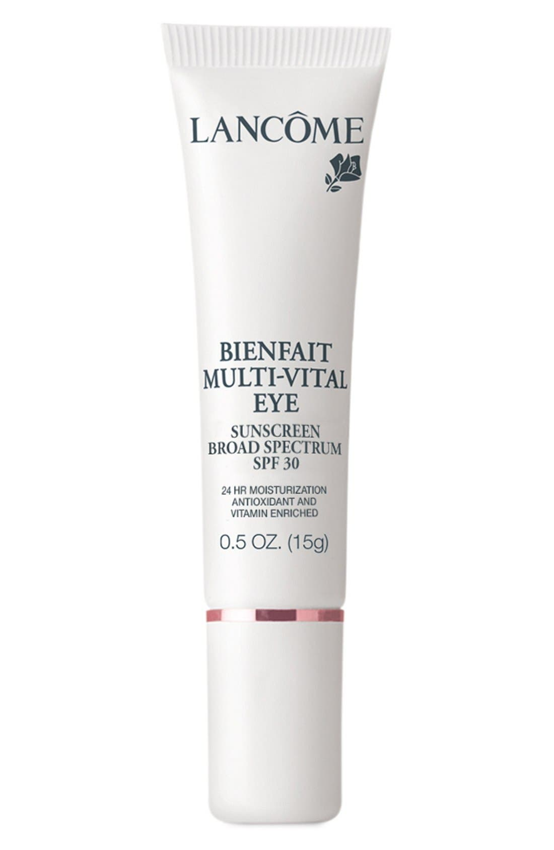 Lancôme Bienfait Multi-Vital Eye SPF 28 Sunscreen
