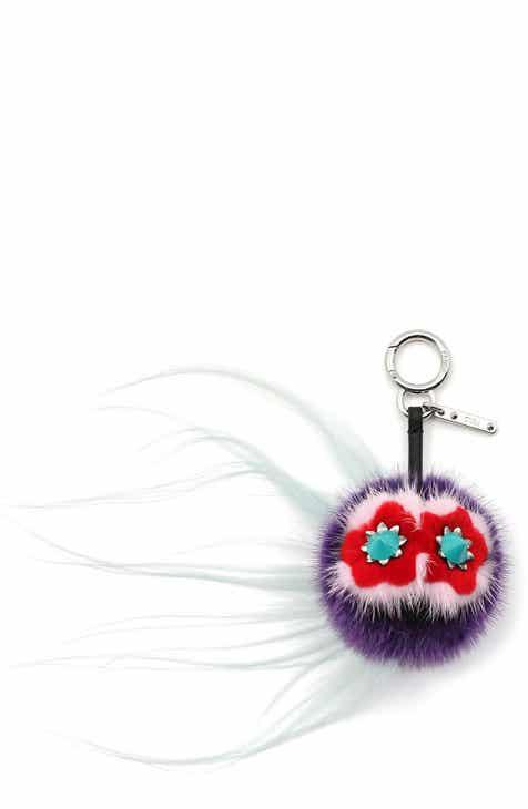 Fendi  Bag Bug  Genuine Mink   Kidassia Fur Bag Charm 7232548a91