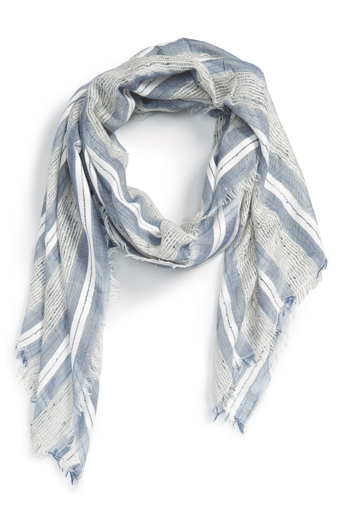 Alternate Image 1 Selected - Sole Society Stripe Scarf